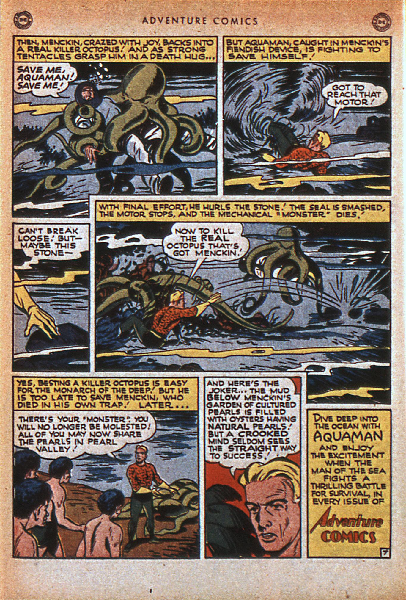 Read online Adventure Comics (1938) comic -  Issue #116 - 37