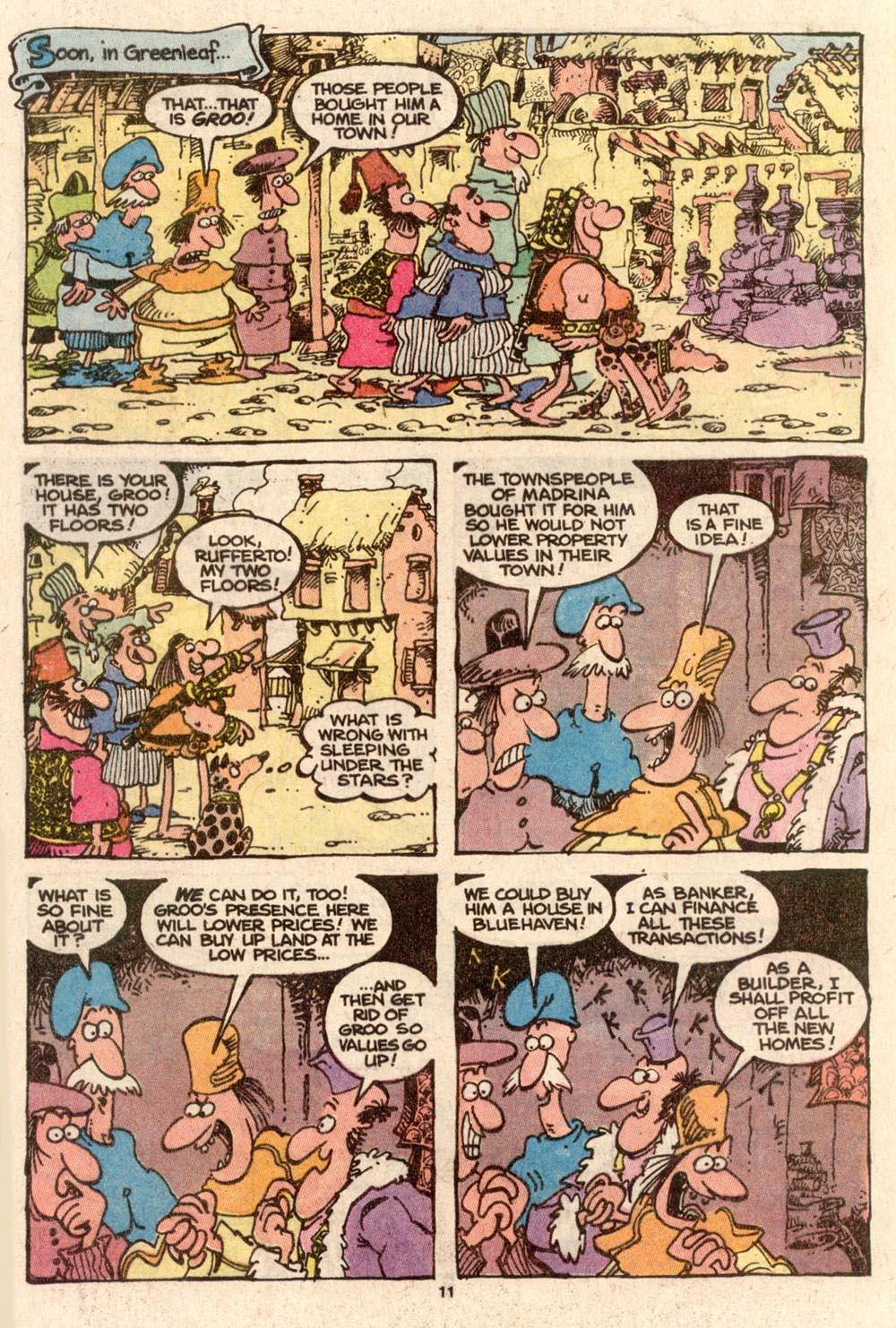 Read online Sergio Aragonés Groo the Wanderer comic -  Issue #63 - 11