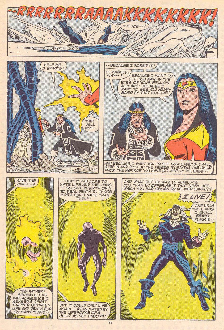 Read online Alpha Flight (1983) comic -  Issue #37 - 18