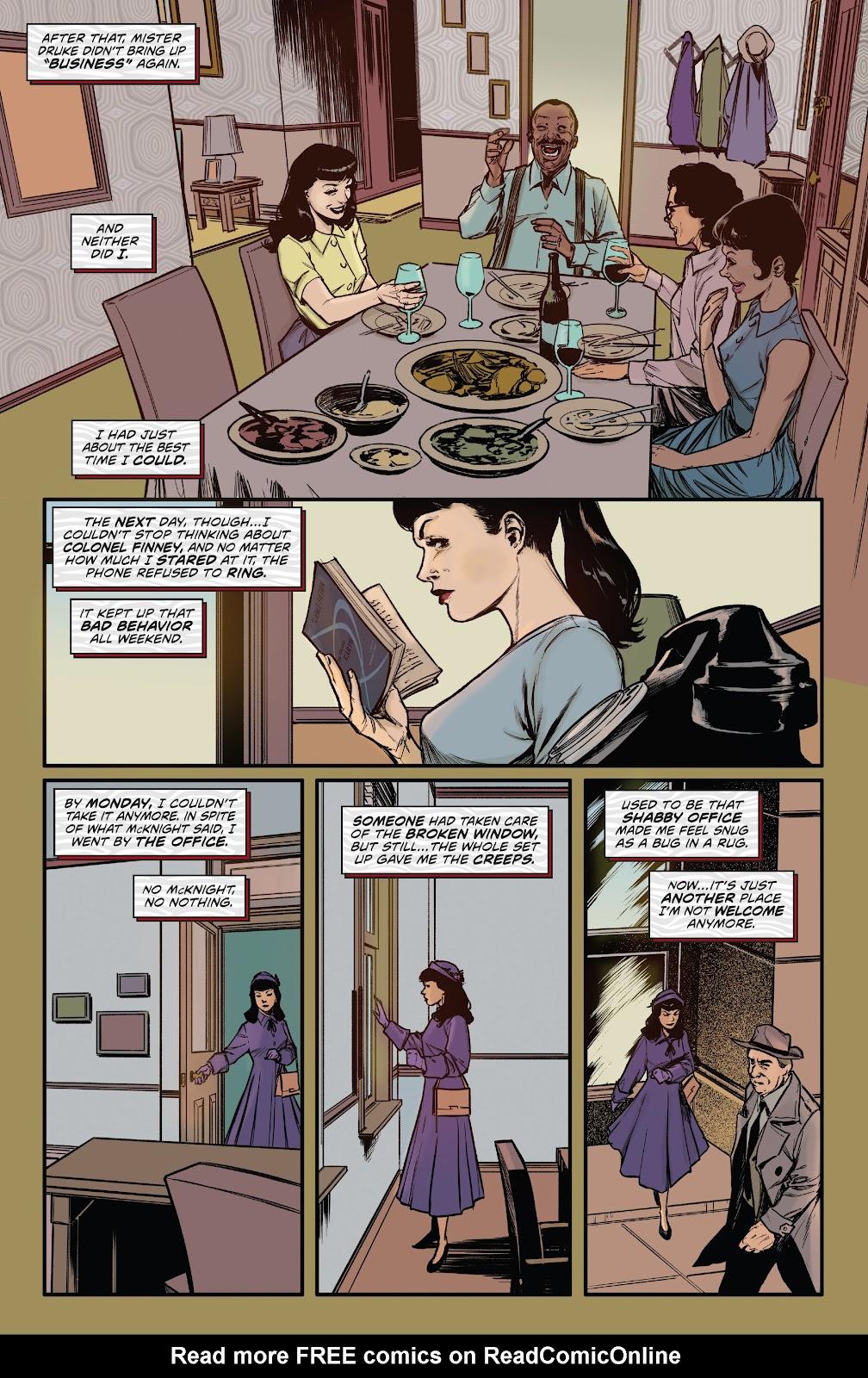 Read online Bettie Page: Unbound comic -  Issue #6 - 14