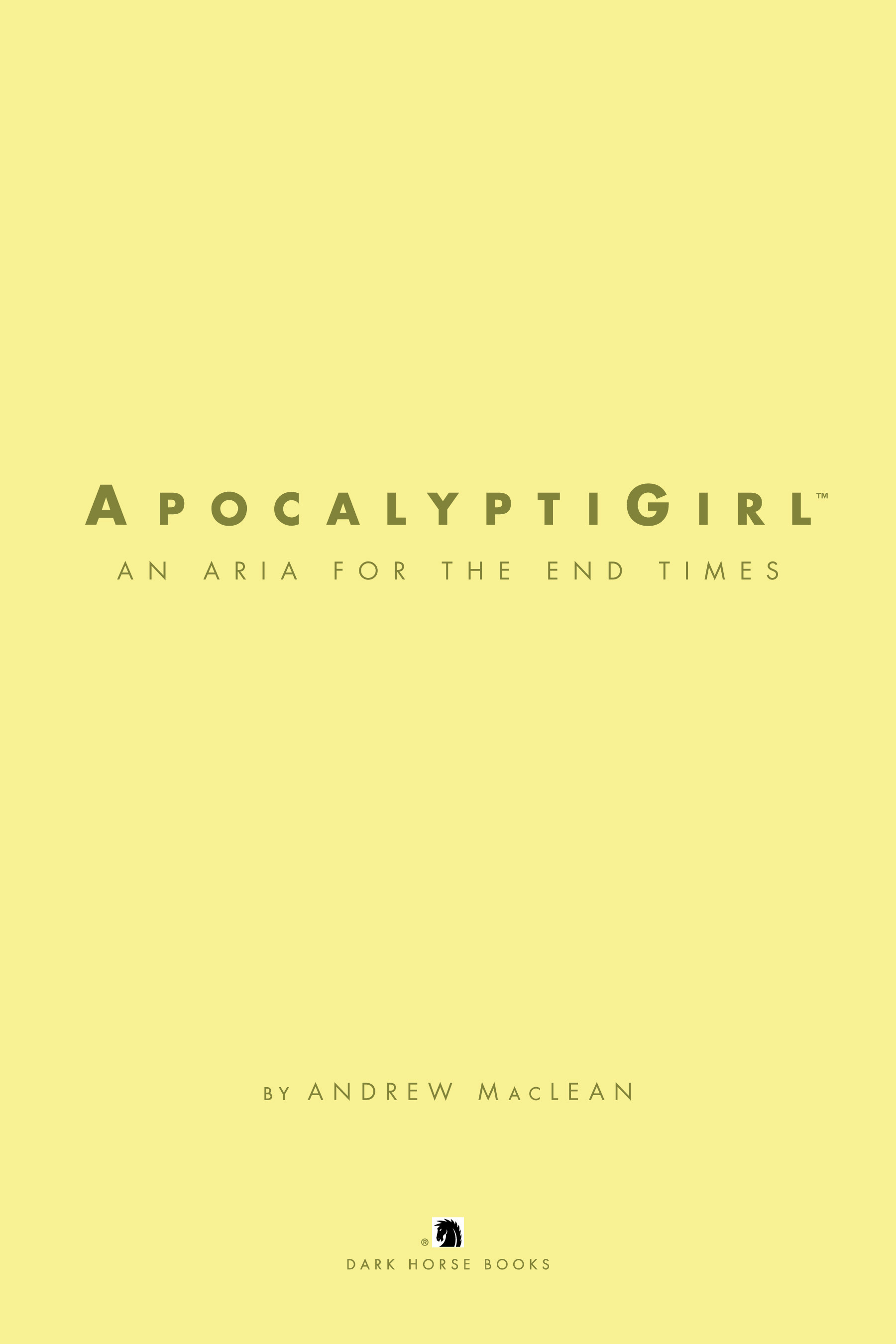 Read online ApocalyptiGirl: An Aria for the End Times comic -  Issue #ApocalyptiGirl: An Aria for the End Times Full - 5