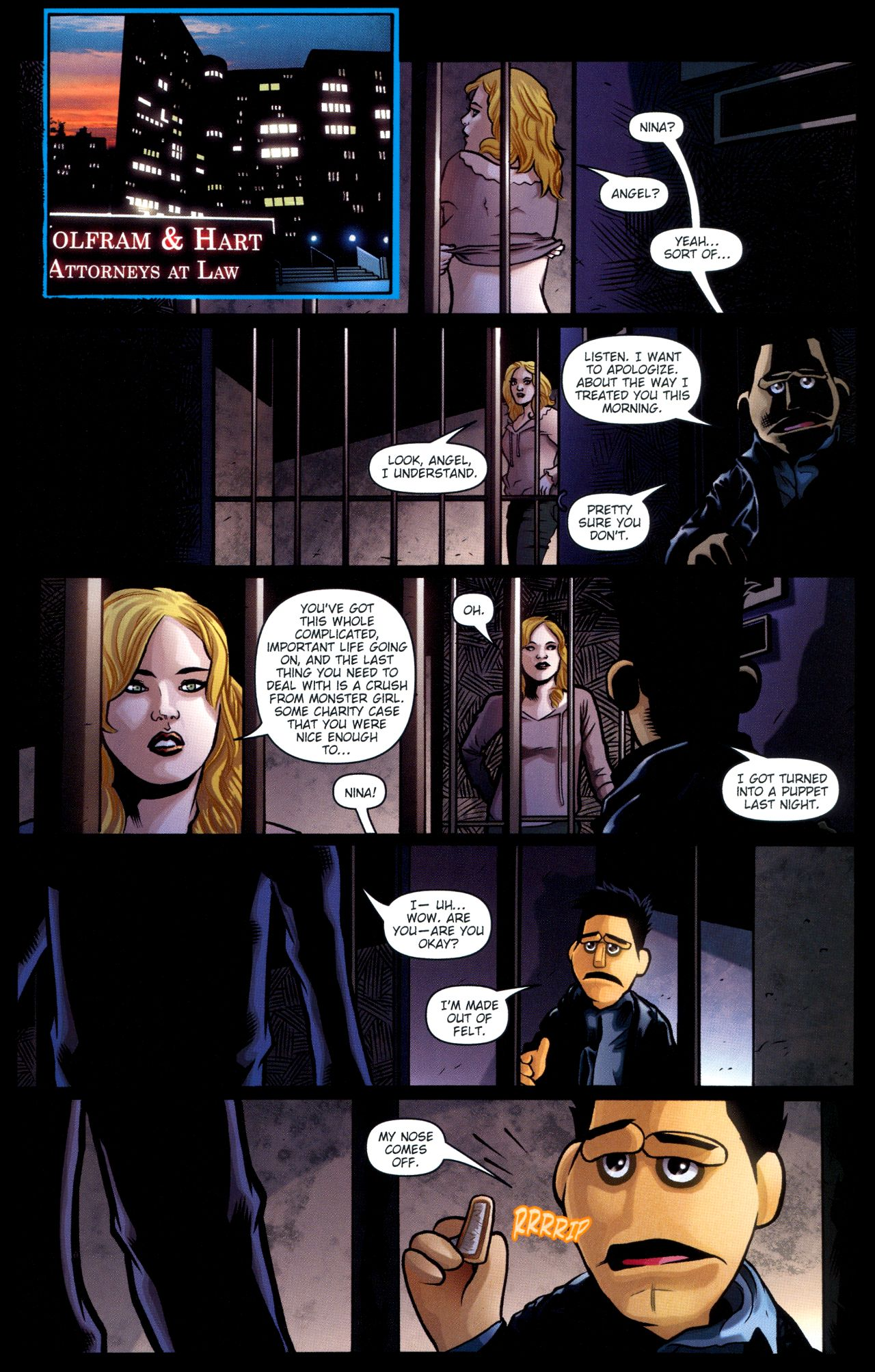 Read online Angel: Smile Time comic -  Issue #2 - 21