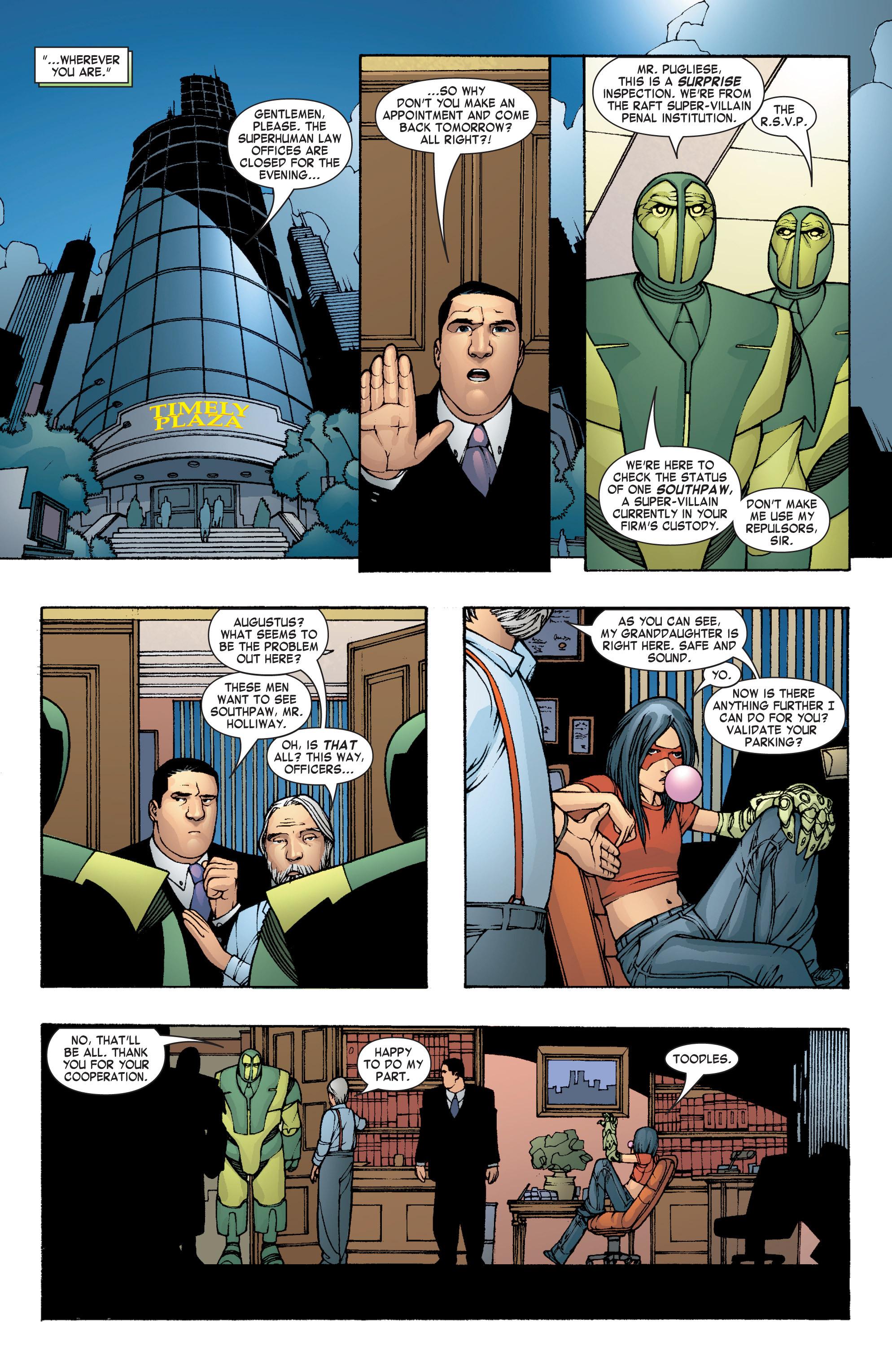 Read online She-Hulk (2004) comic -  Issue #8 - 15
