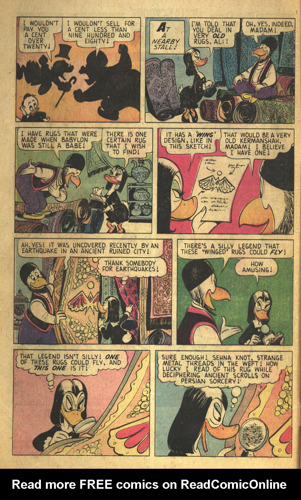 Read online Uncle Scrooge (1953) comic -  Issue #116 - 4