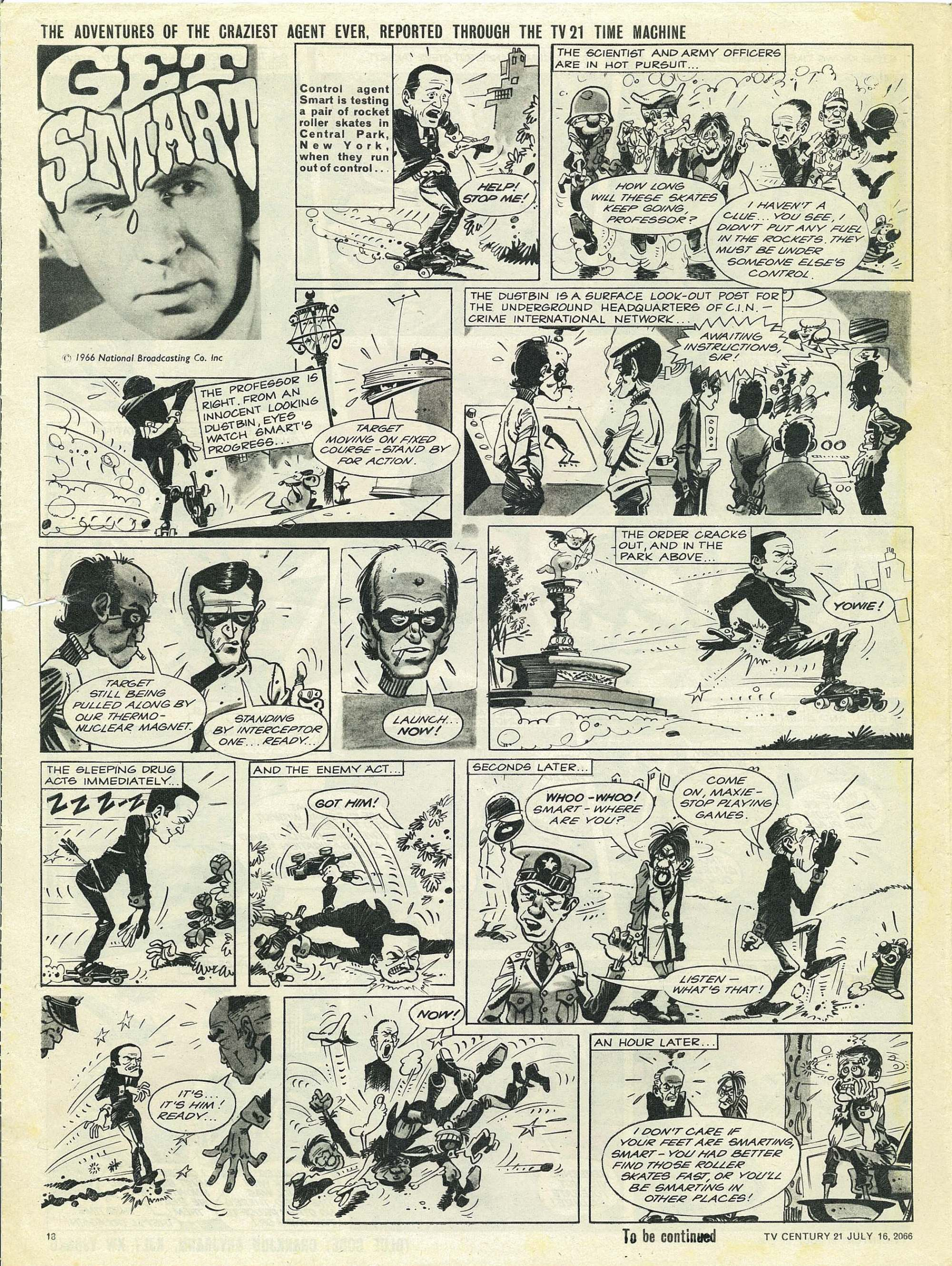 Read online TV Century 21 (TV 21) comic -  Issue #78 - 17