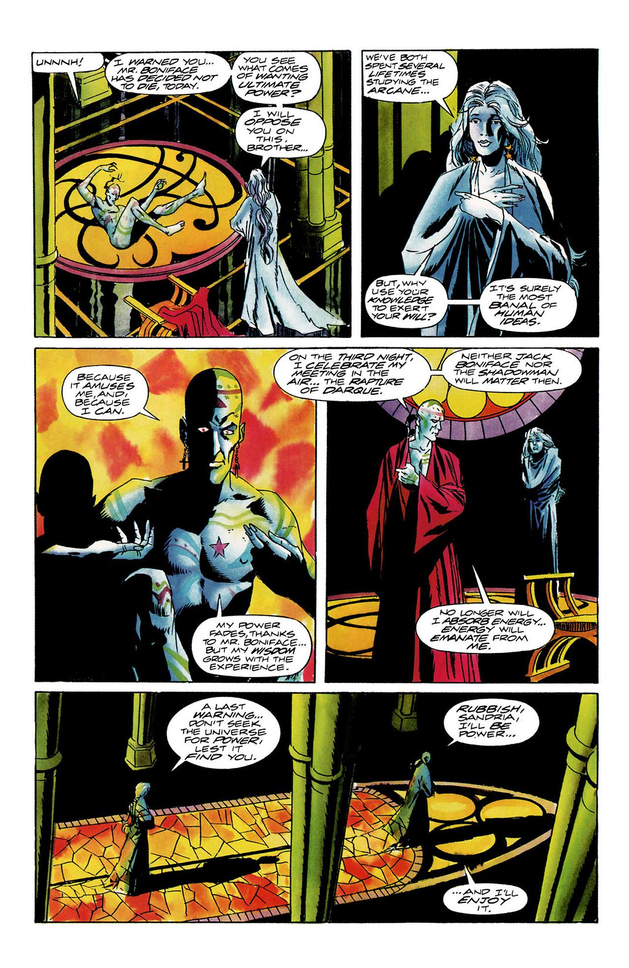 Read online Shadowman (1992) comic -  Issue #12 - 8