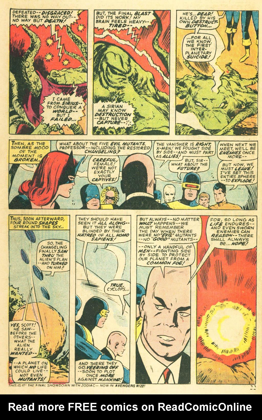 Read online Uncanny X-Men (1963) comic -  Issue #87 - 24
