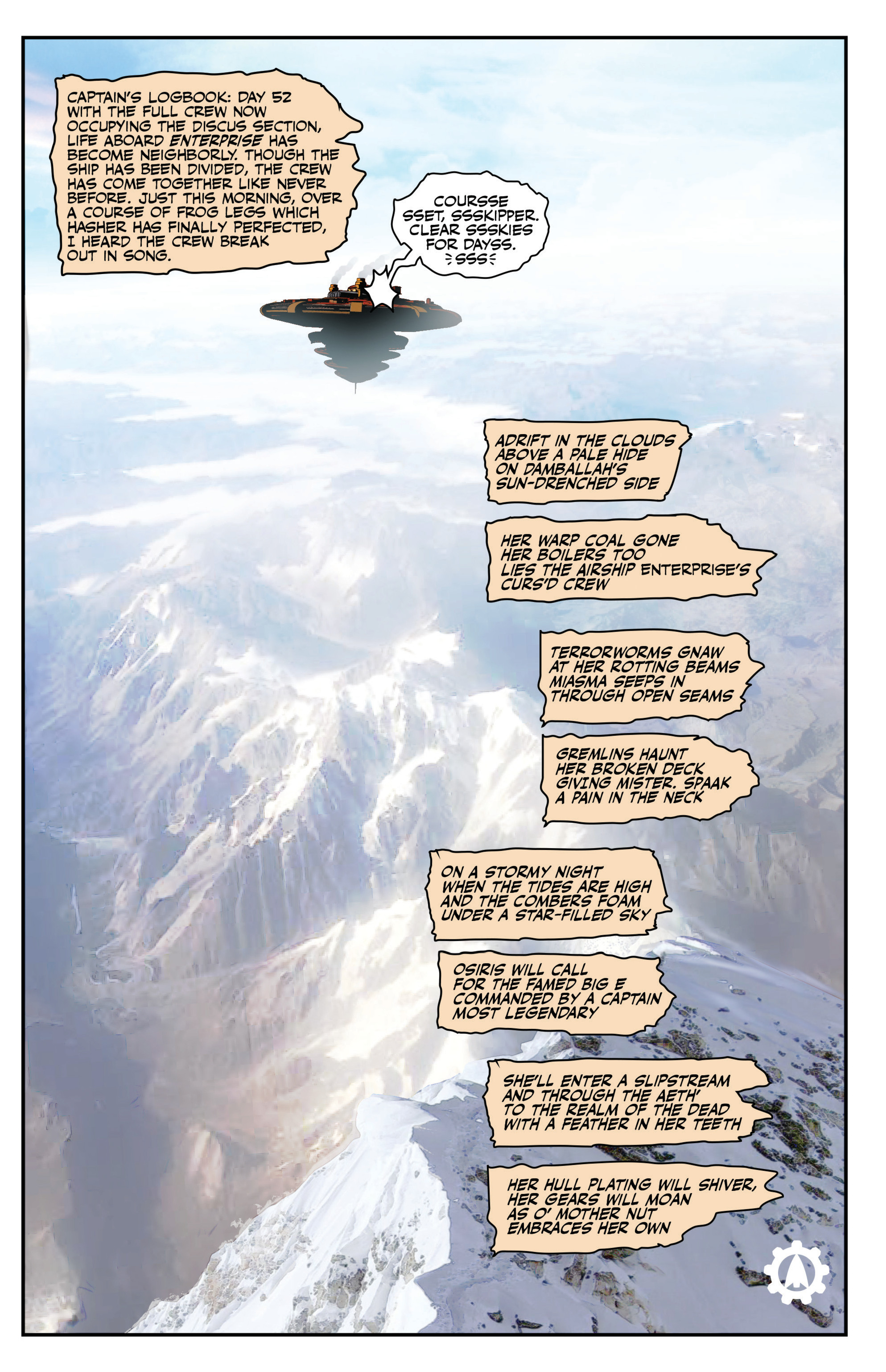 Read online Airship Enterprise: The Infernal Machine comic -  Issue #4 - 15