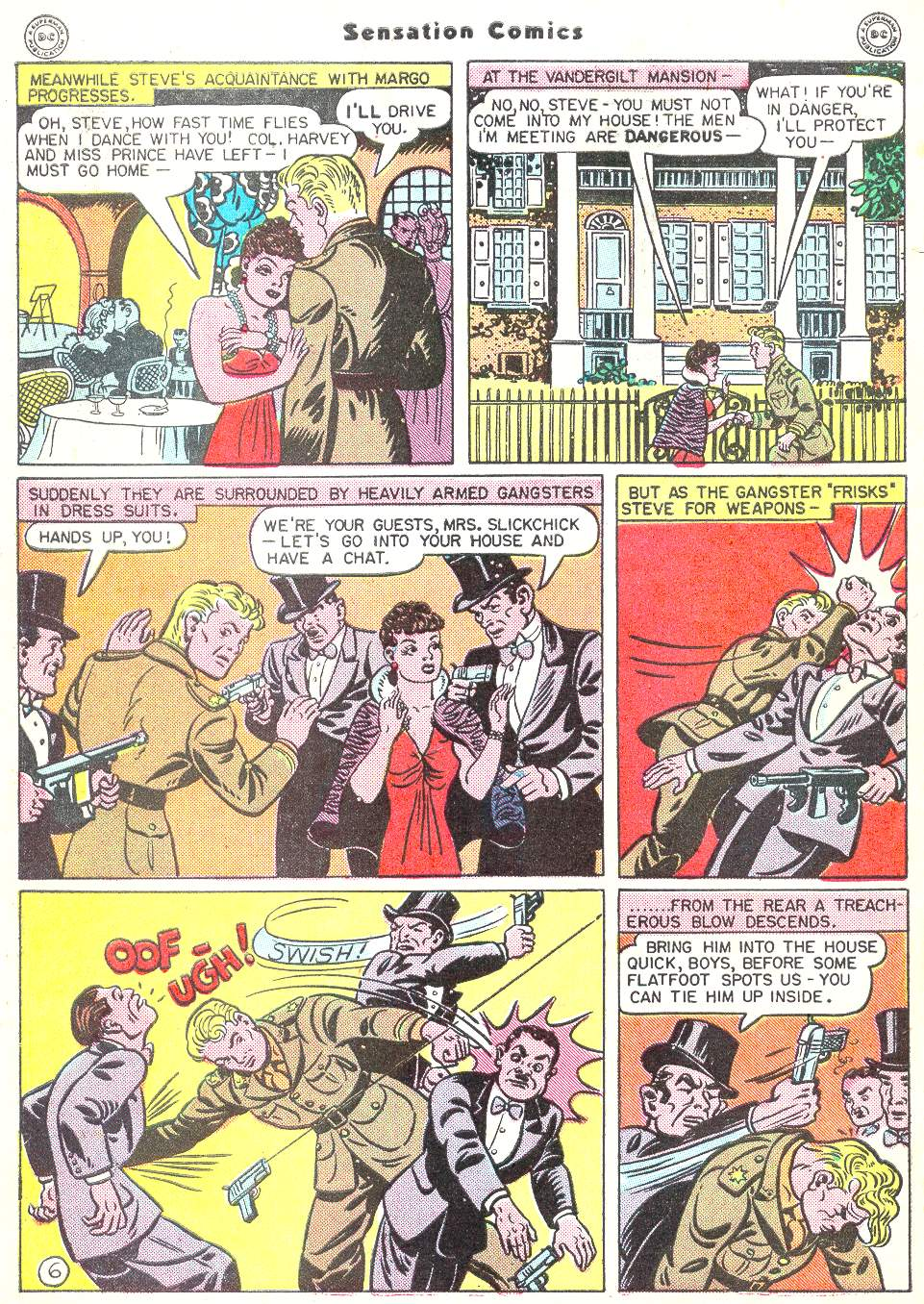 Read online Sensation (Mystery) Comics comic -  Issue #50 - 8
