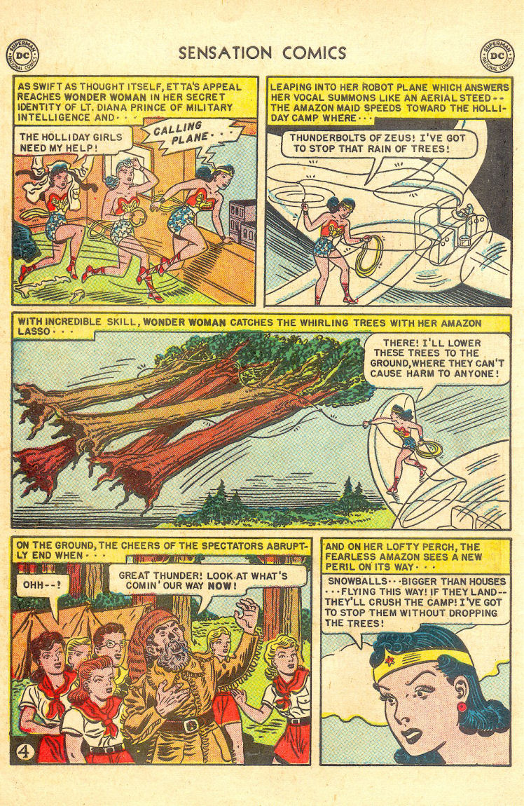 Read online Sensation (Mystery) Comics comic -  Issue #105 - 6