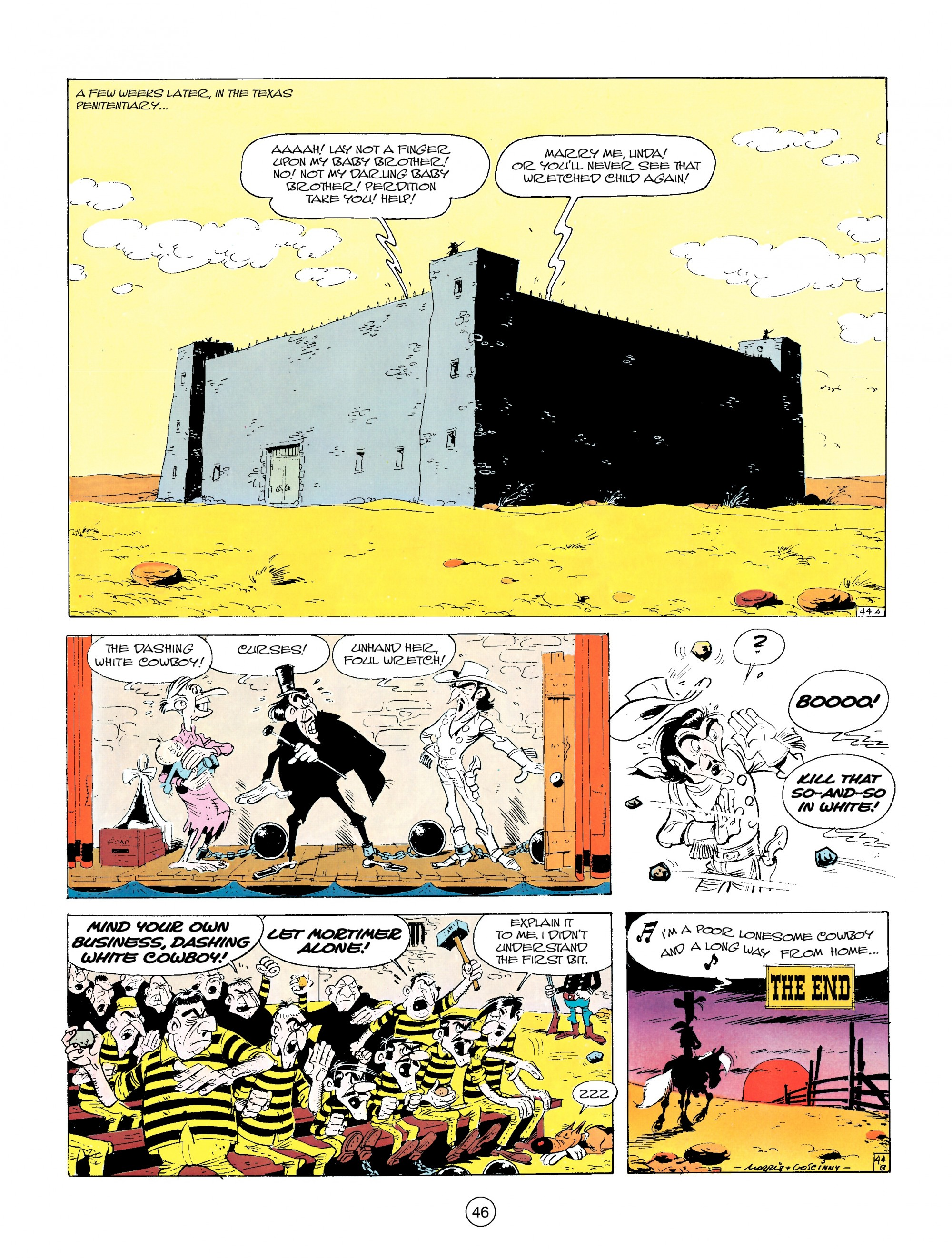 Read online A Lucky Luke Adventure comic -  Issue #14 - 46