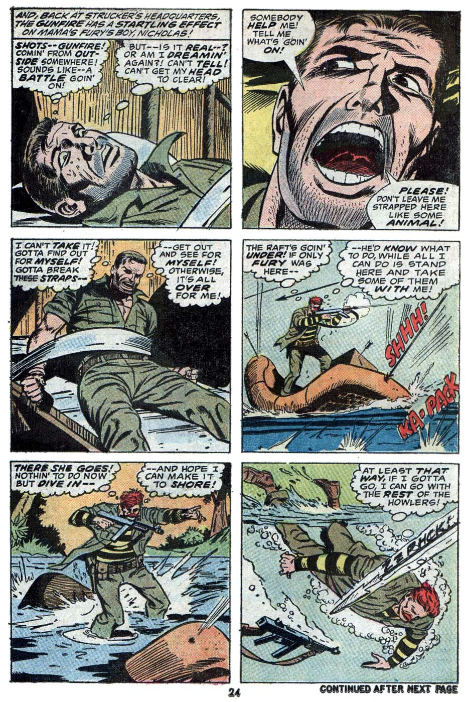 Read online Sgt. Fury comic -  Issue #114 - 26