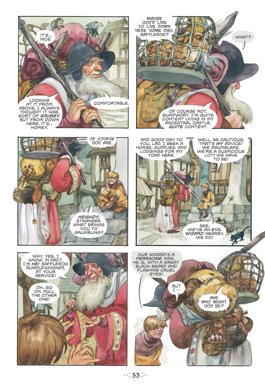 Read online The Wizard's Tale comic -  Issue # TPB - 50
