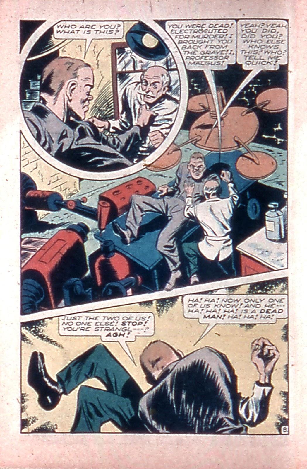 Read online Mystic Comics (1944) comic -  Issue #4 - 10
