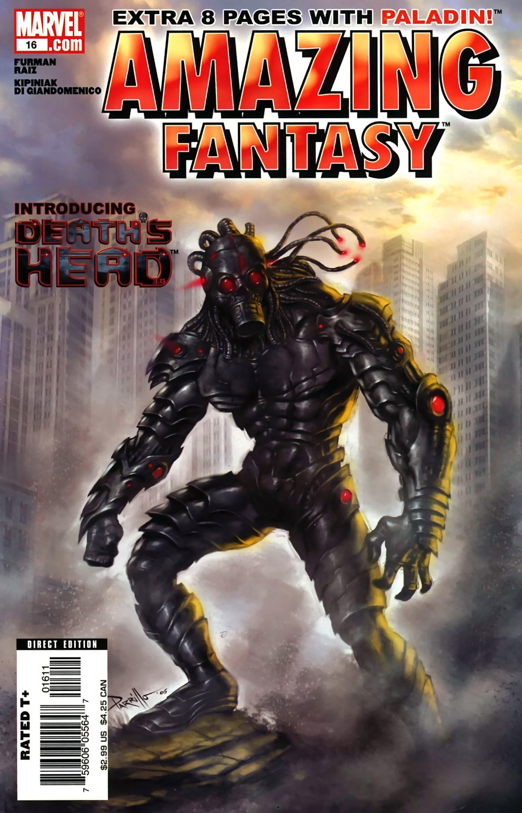 Read online Amazing Fantasy (2004) comic -  Issue #16 - 1