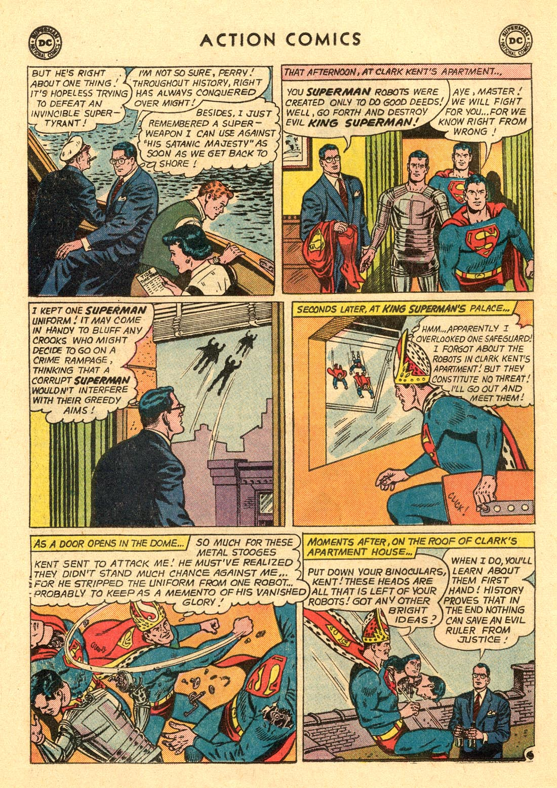 Read online Action Comics (1938) comic -  Issue #312 - 8