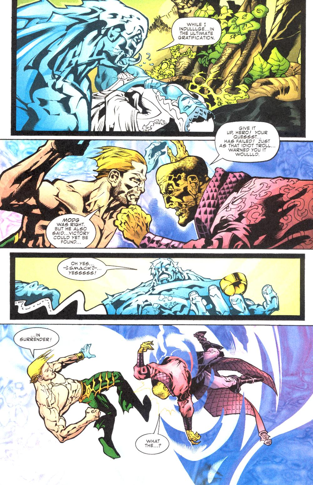 Read online Aquaman (2003) comic -  Issue #12 - 16