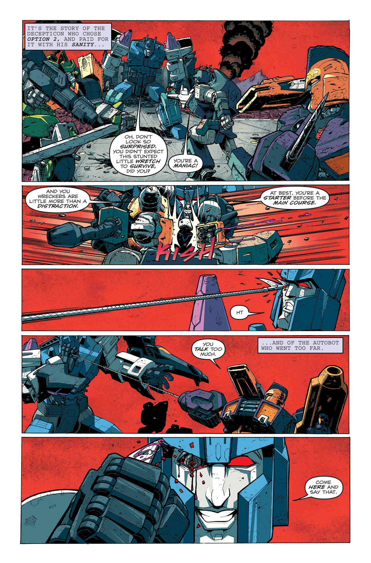 Read online Transformers: Last Stand of The Wreckers comic -  Issue #5 - 5