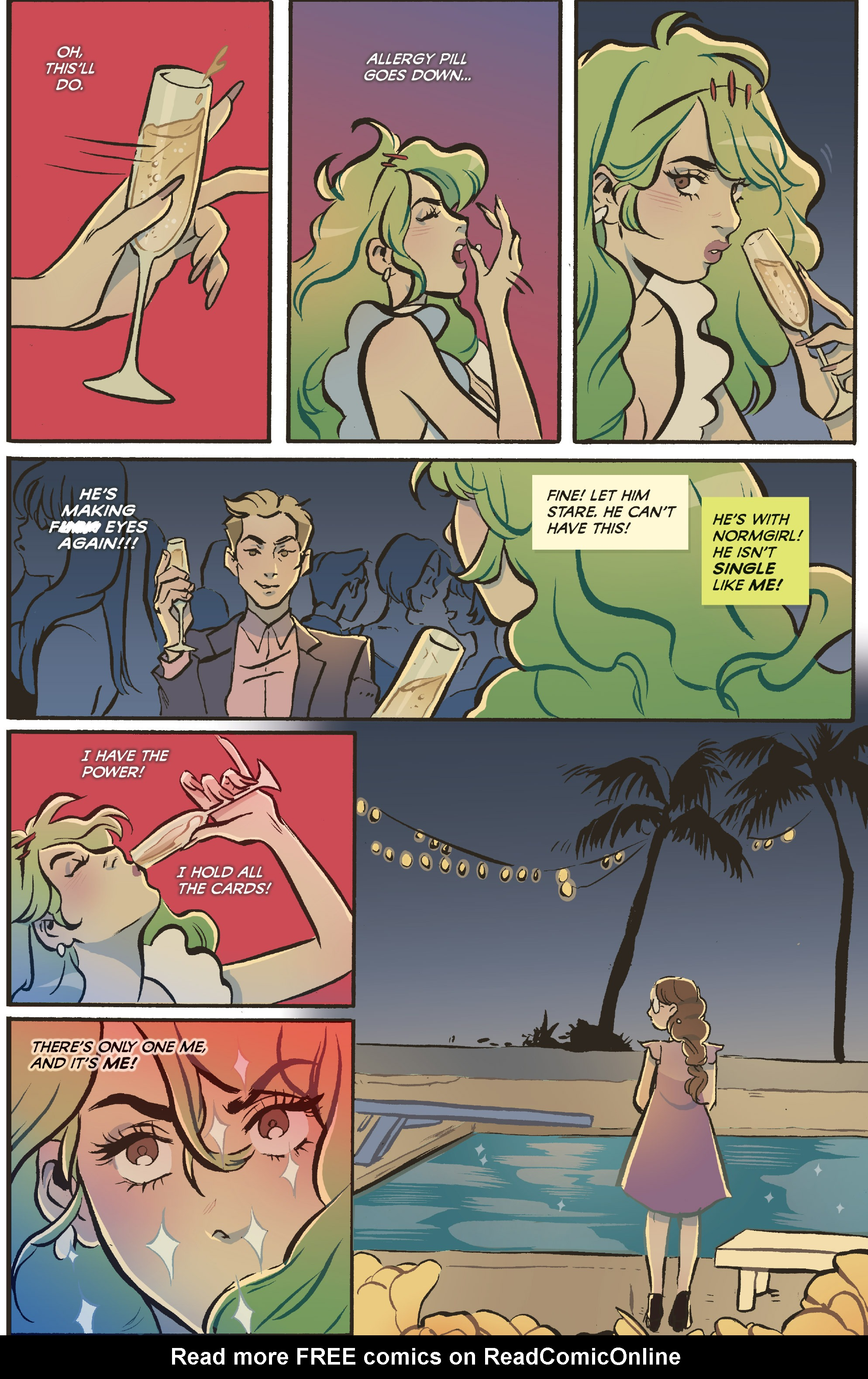 Read online Snotgirl comic -  Issue #3 - 17