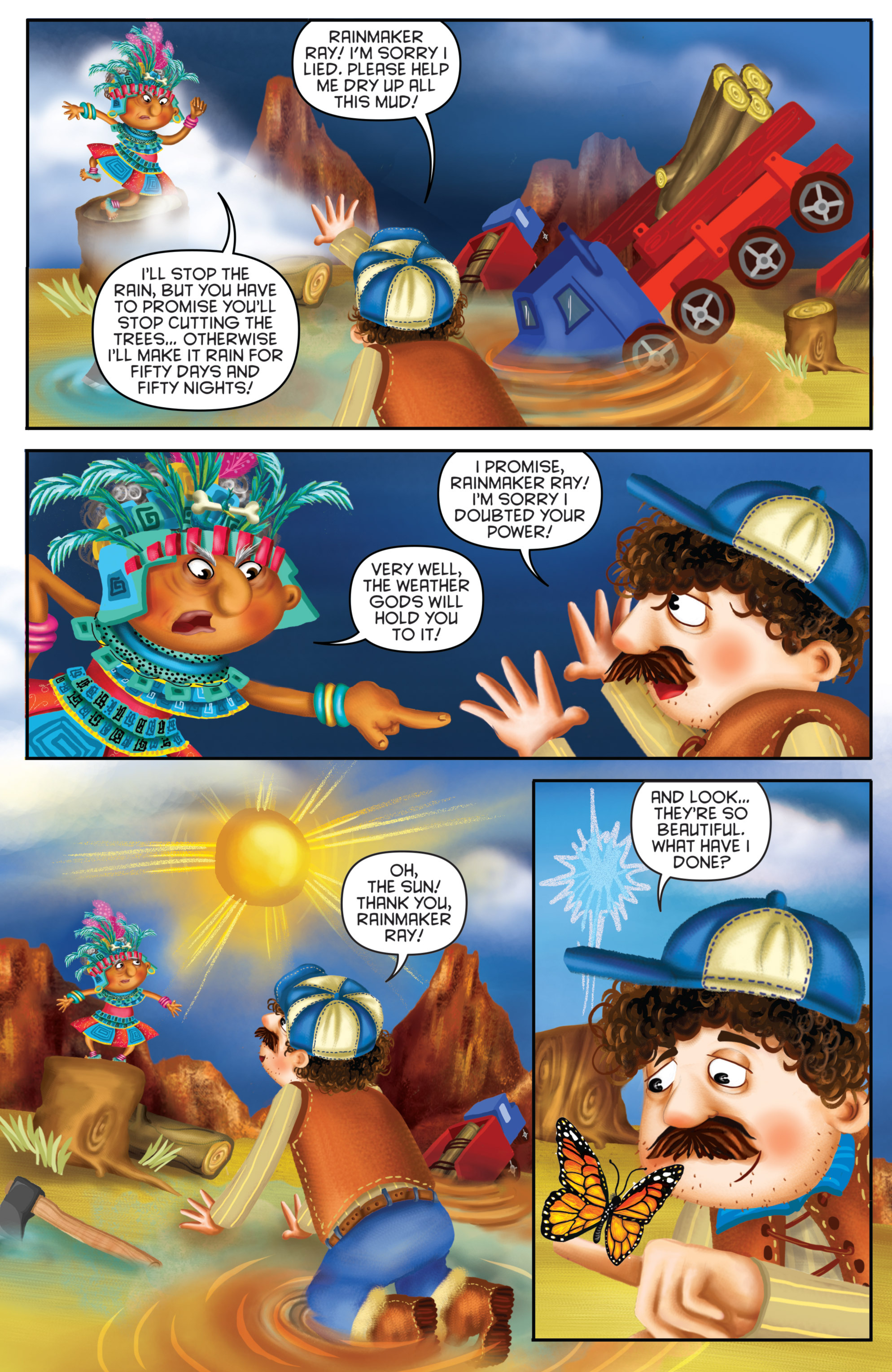 Read online Michael Recycle comic -  Issue #3 - 18
