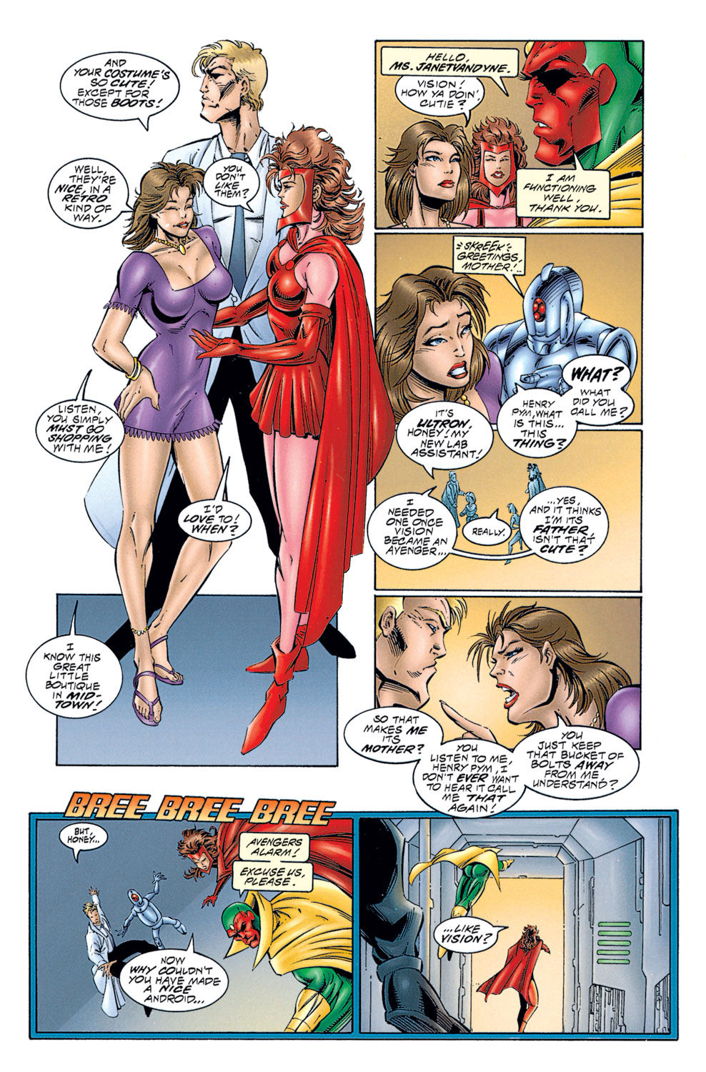 Read online Avengers (1996) comic -  Issue #1 - 17