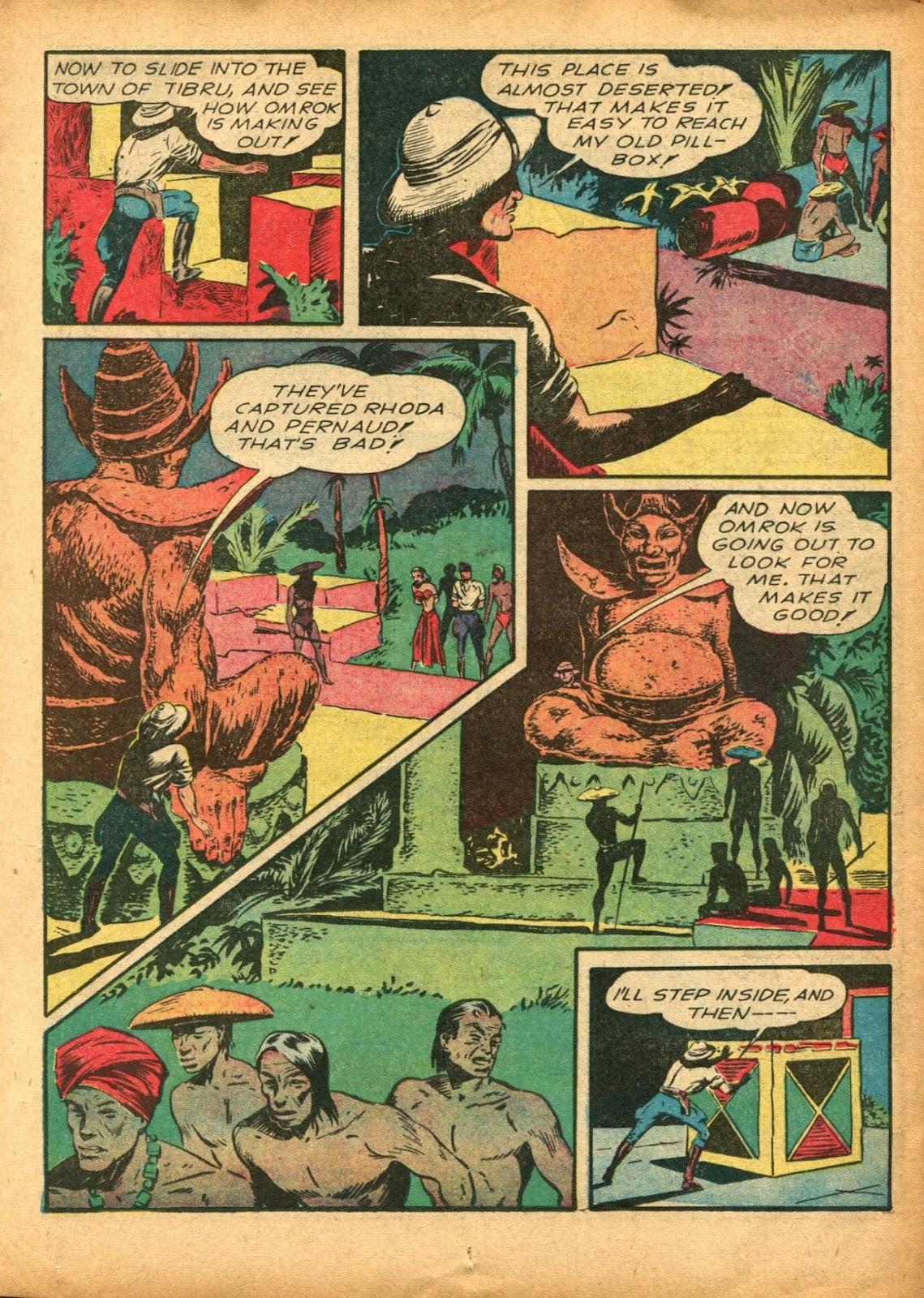 Read online Super-Magician Comics comic -  Issue #5 - 29