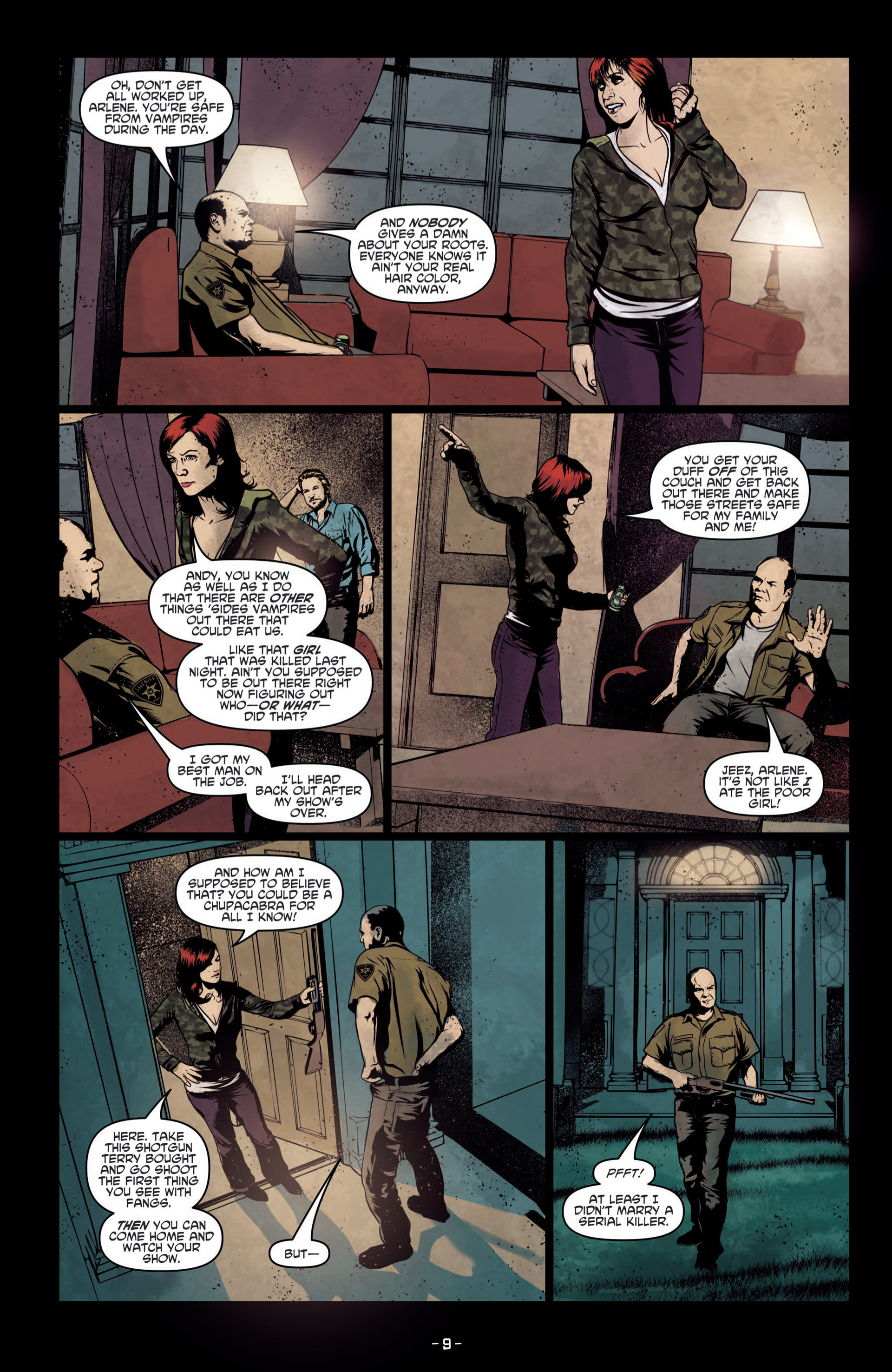Read online True Blood (2012) comic -  Issue #8 - 11