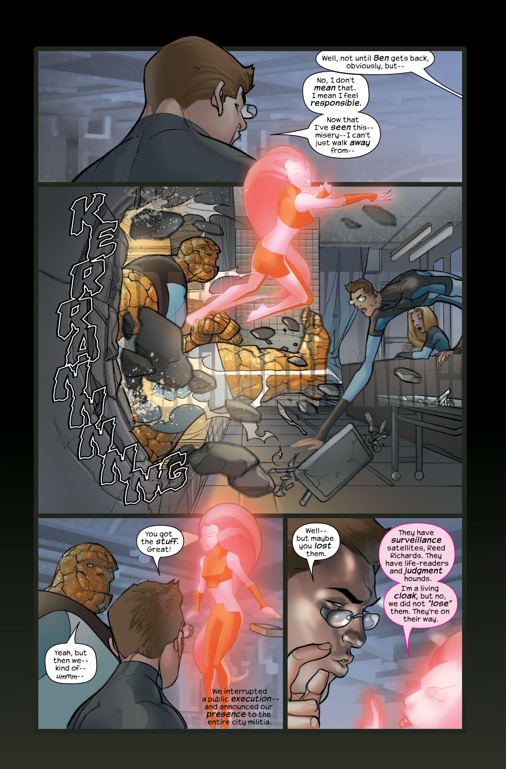 Read online Ultimate Fantastic Four (2004) comic -  Issue #36 - 22