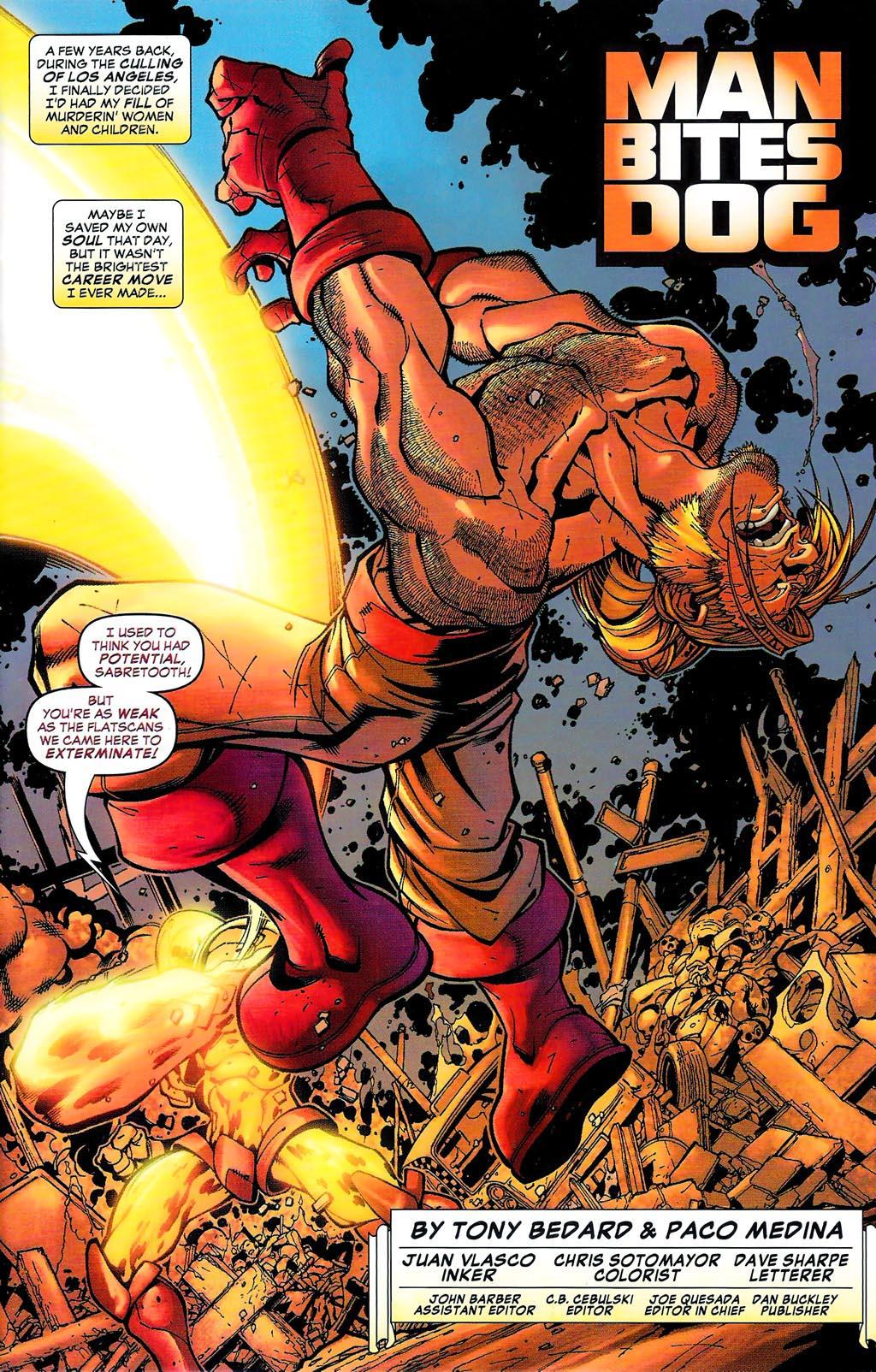 Read online Age of Apocalypse (2005) comic -  Issue #0 - 9