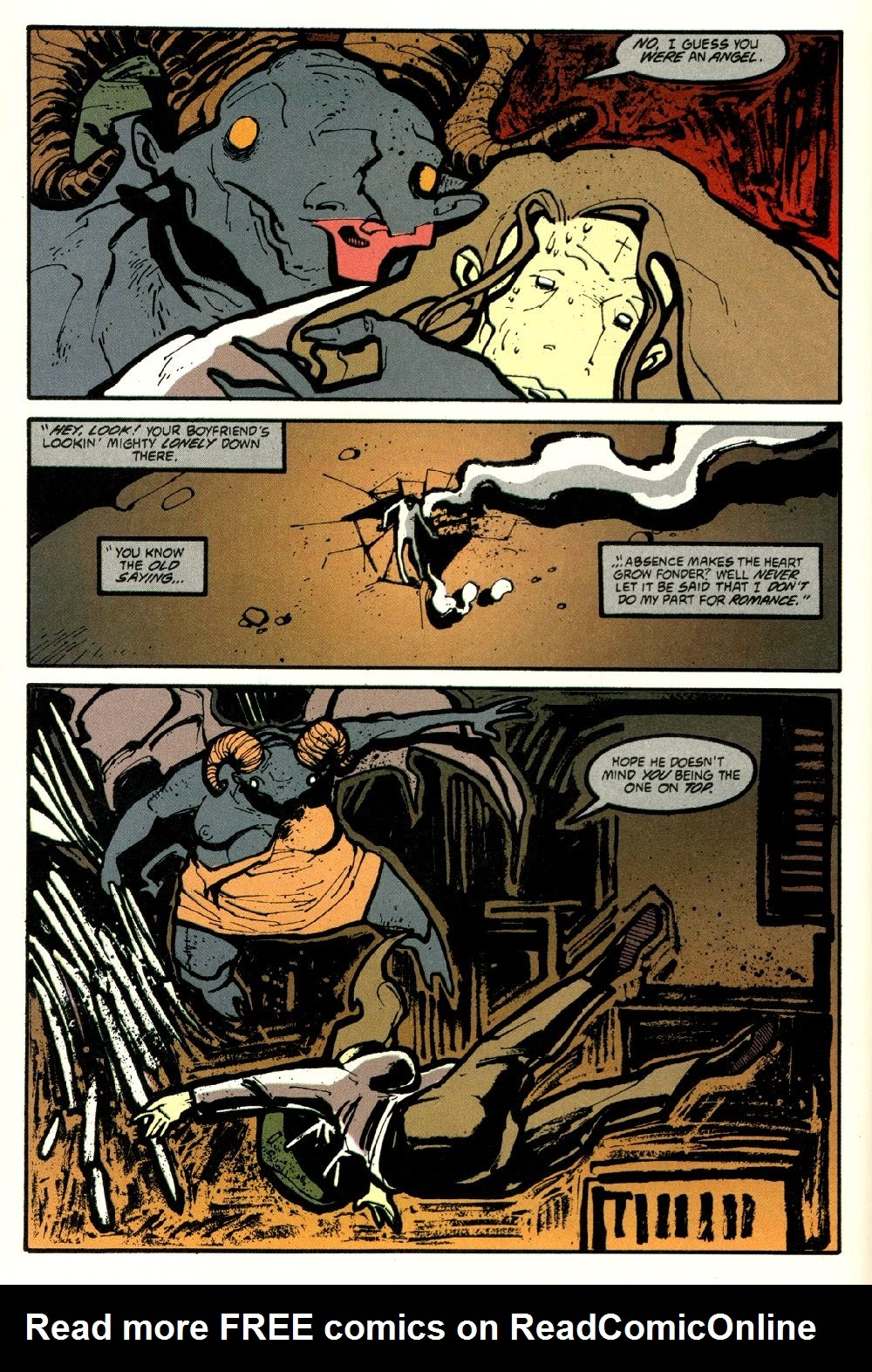 Read online Ted McKeever's Metropol comic -  Issue #8 - 22