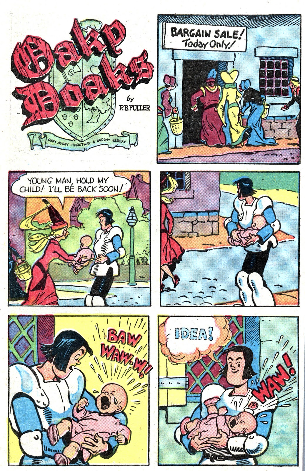 Read online Famous Funnies comic -  Issue #157 - 44