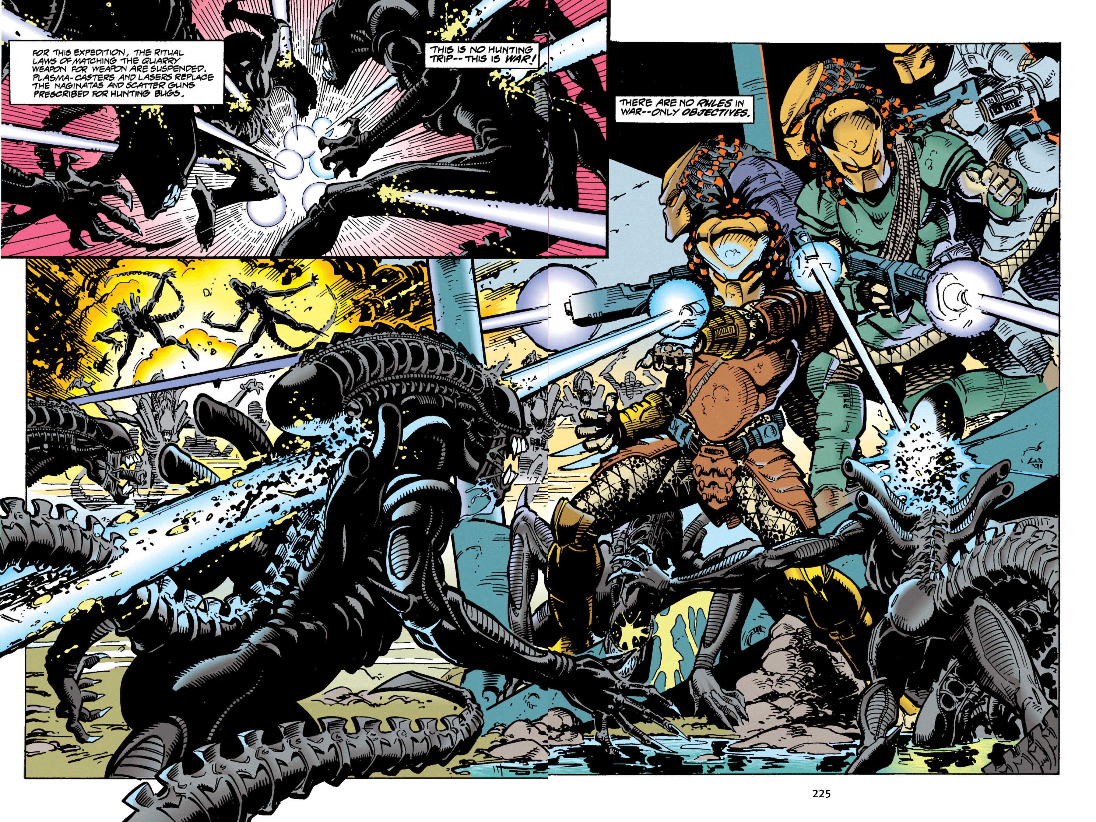 Read online Aliens vs. Predator Omnibus comic -  Issue # _TPB 1 Part 3 - 18