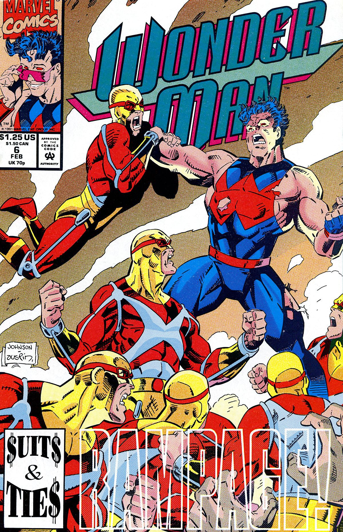 Read online Wonder Man (1991) comic -  Issue #6 - 1