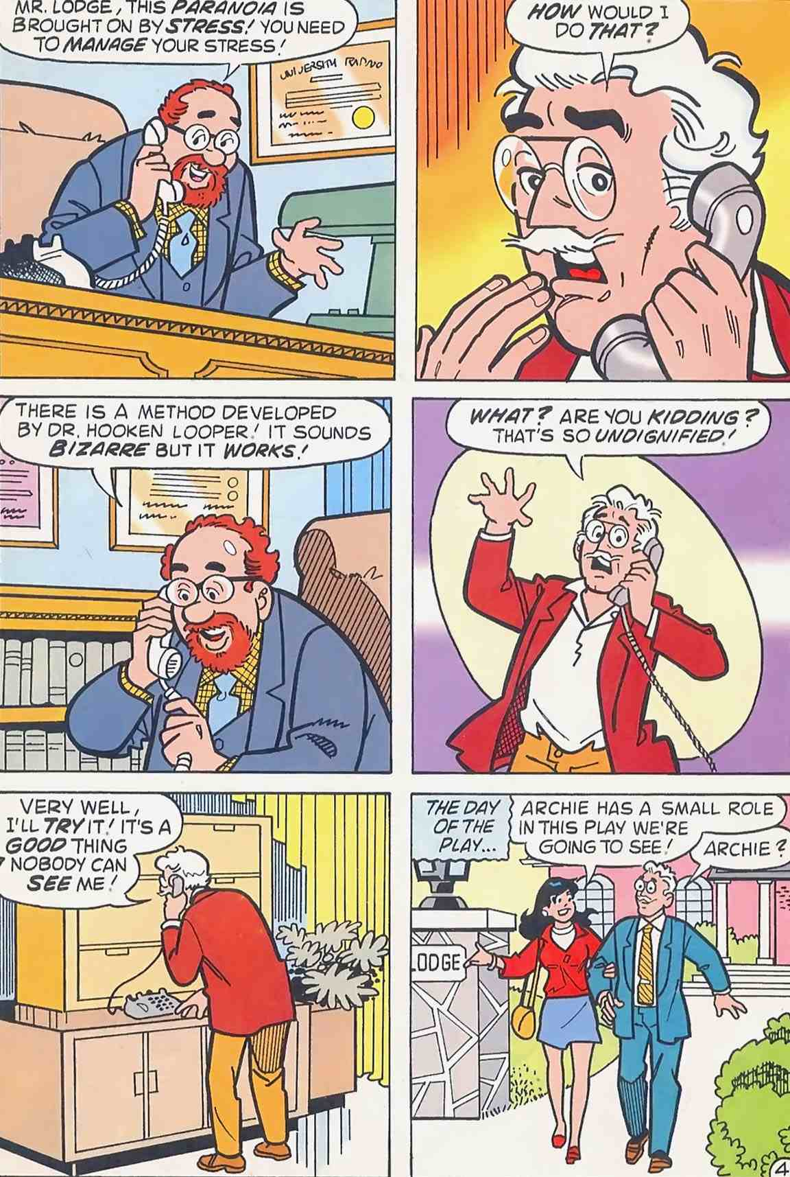 Read online Archie (1960) comic -  Issue #454 - 5