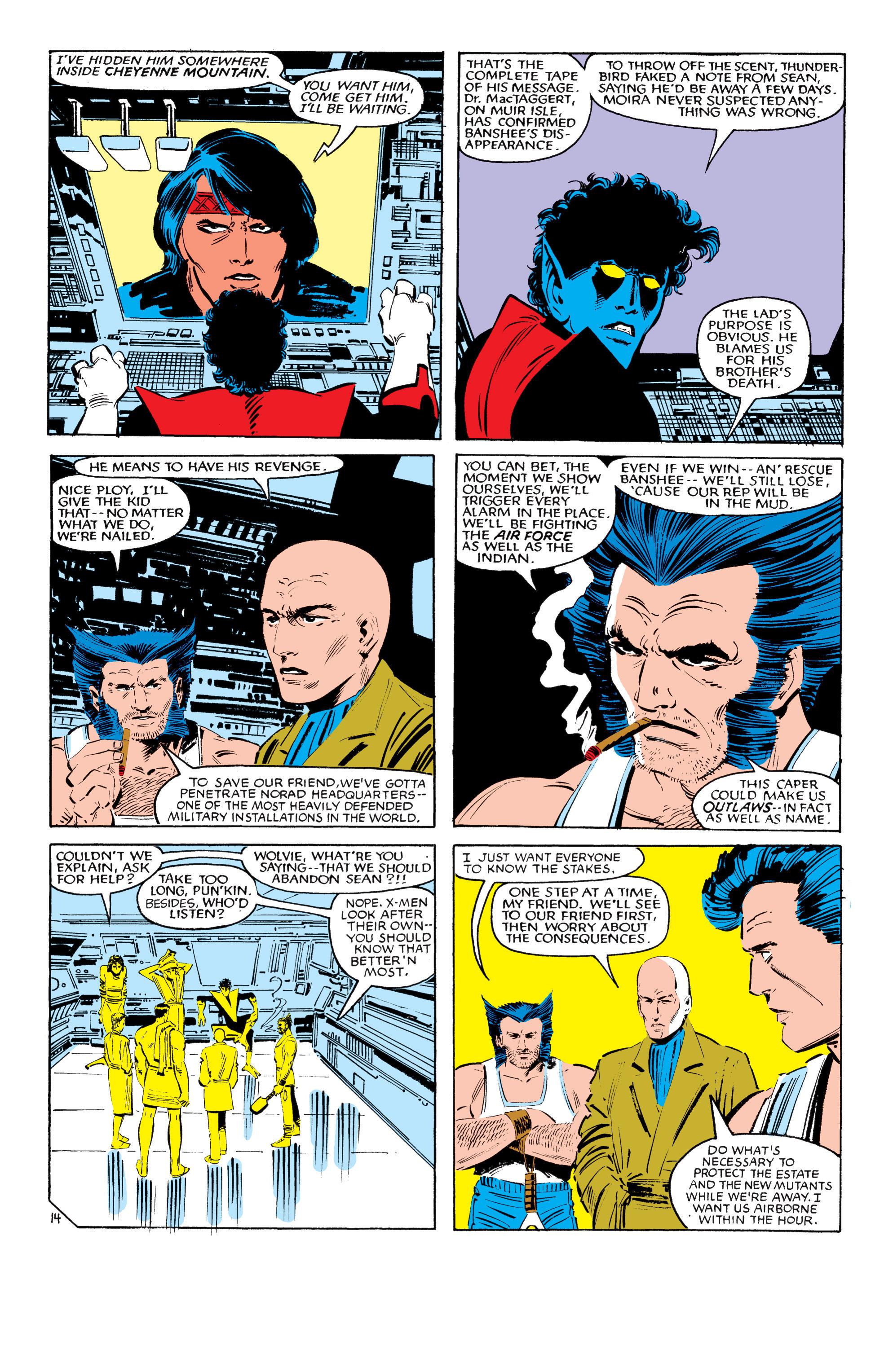 Read online Uncanny X-Men (1963) comic -  Issue #193 - 15