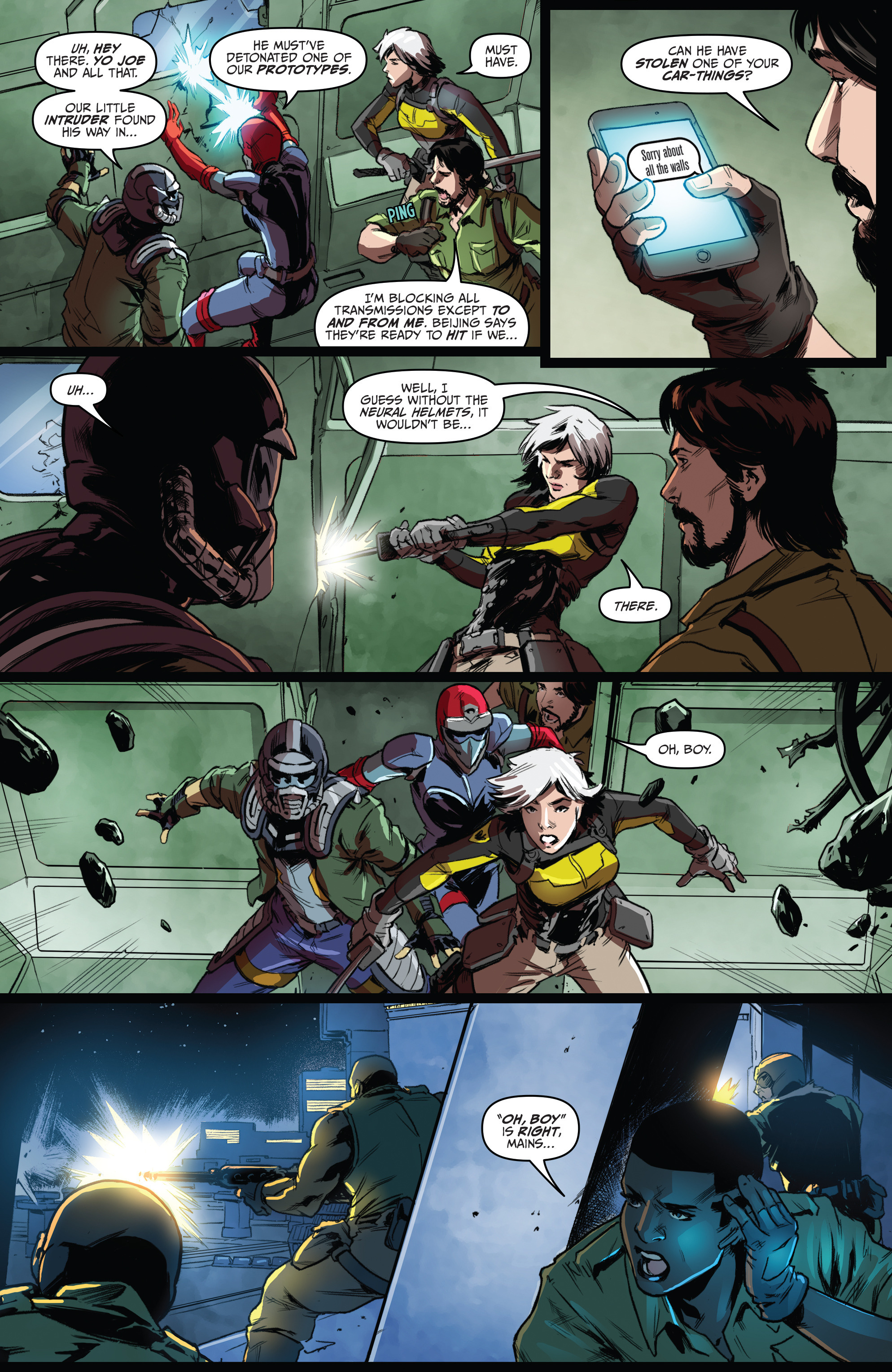 Read online Action Man: Revolution comic -  Issue #Action Man: Revolution Full - 17