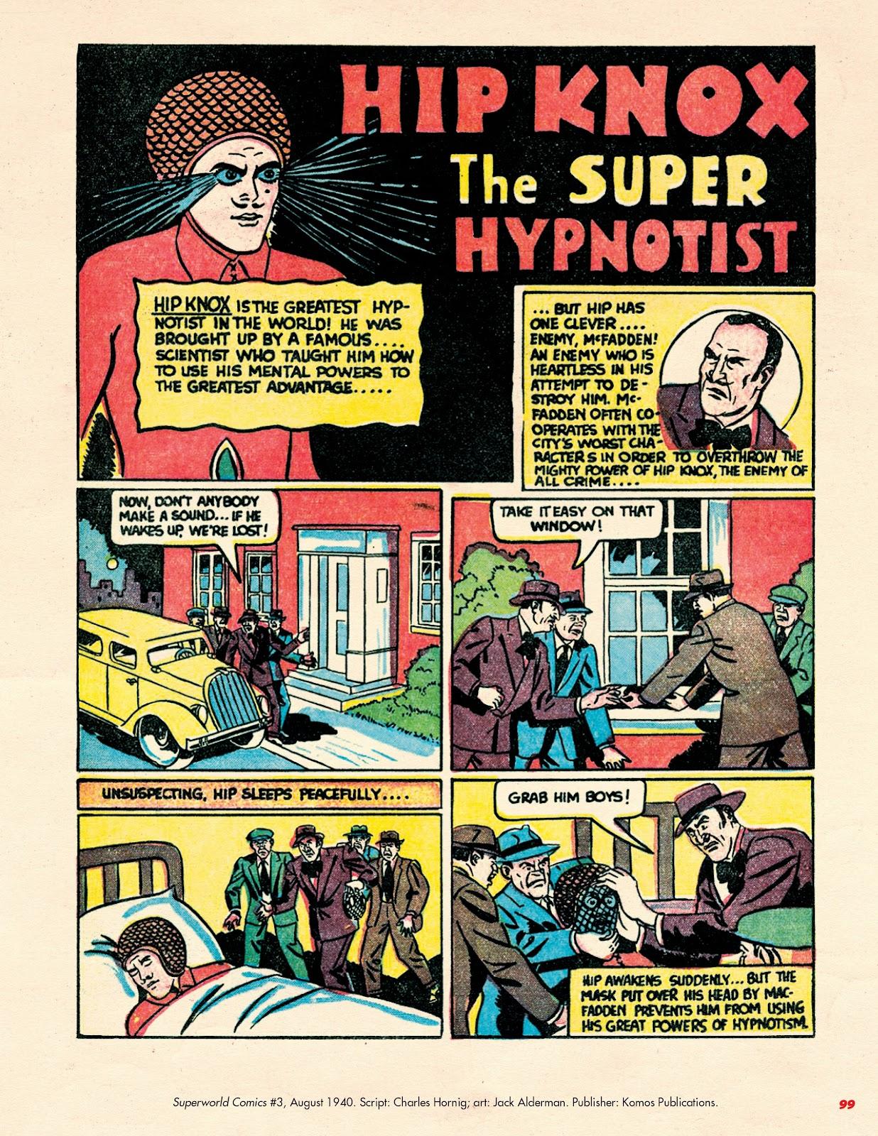 Read online Super Weird Heroes comic -  Issue # TPB 2 (Part 1) - 99