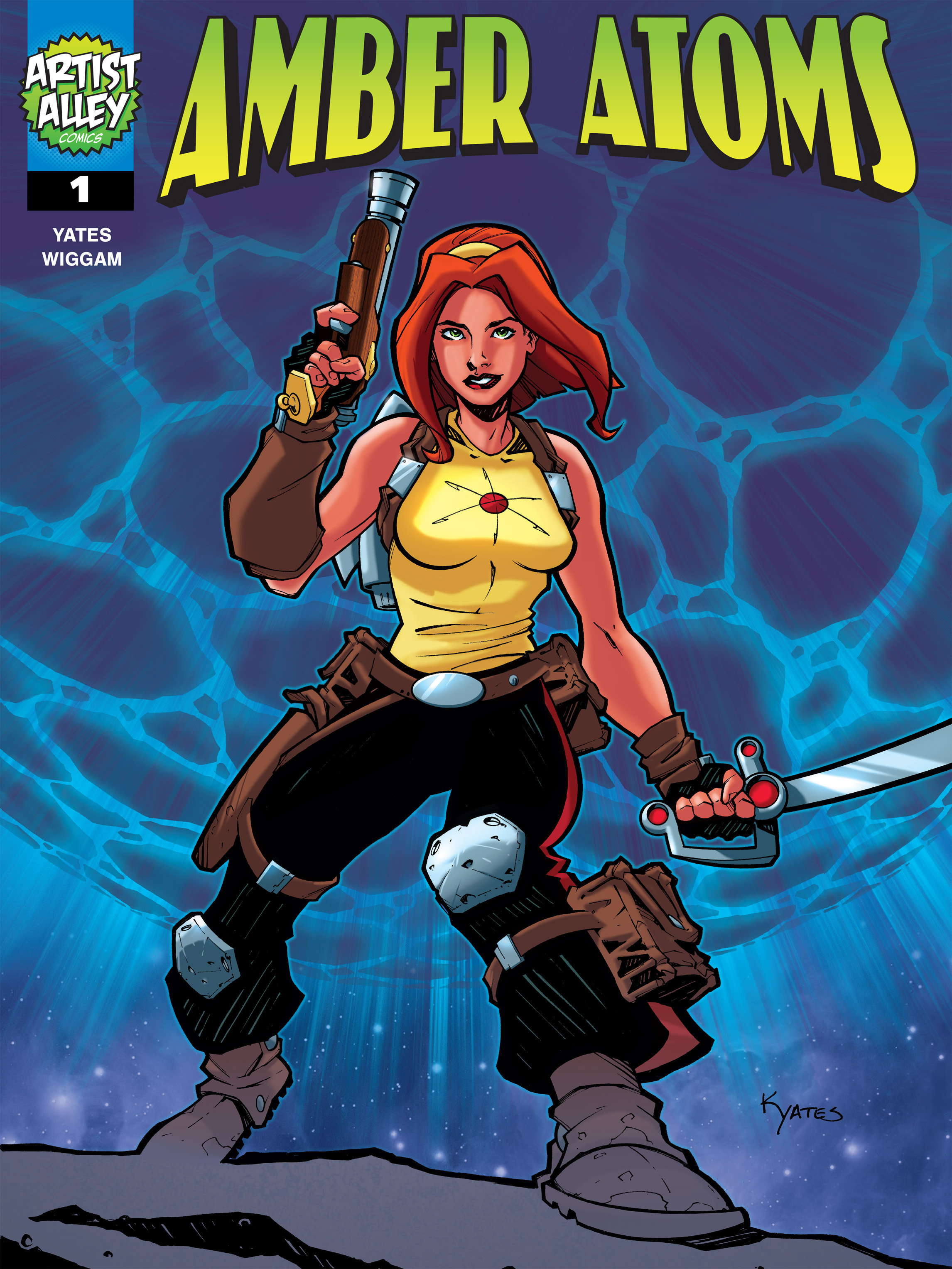 Read online Amber Atoms comic -  Issue #1 - 1
