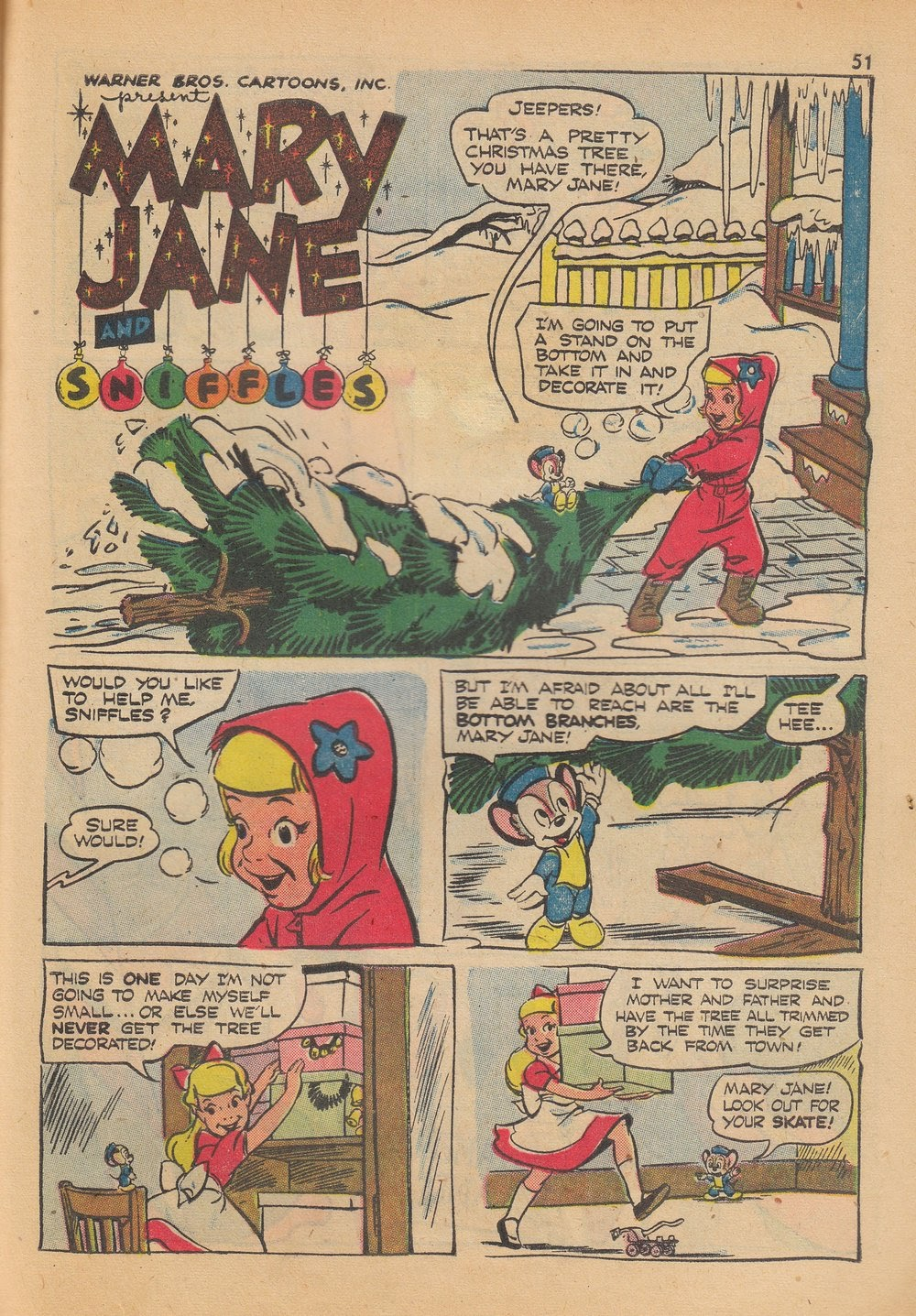 Bugs Bunny's Christmas Funnies issue TPB 4 - Page 53