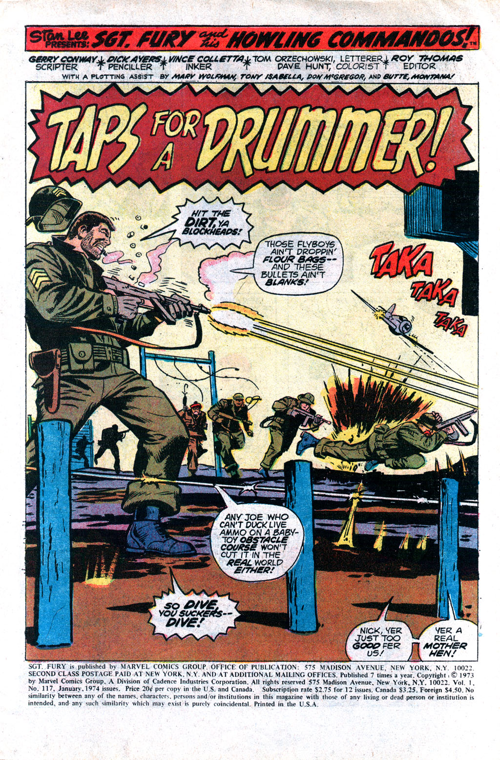 Read online Sgt. Fury comic -  Issue #117 - 3
