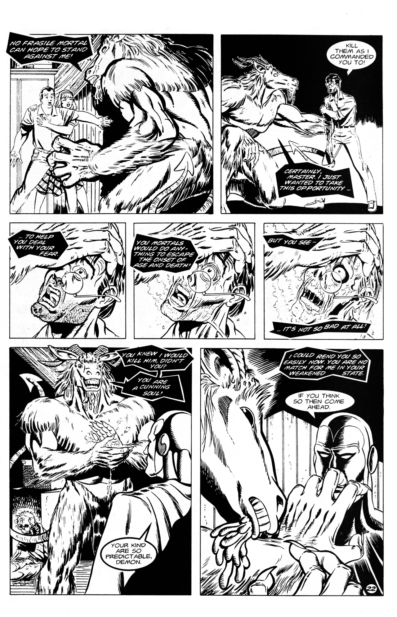 Read online Dr. Weird (1994) comic -  Issue #1 - 24