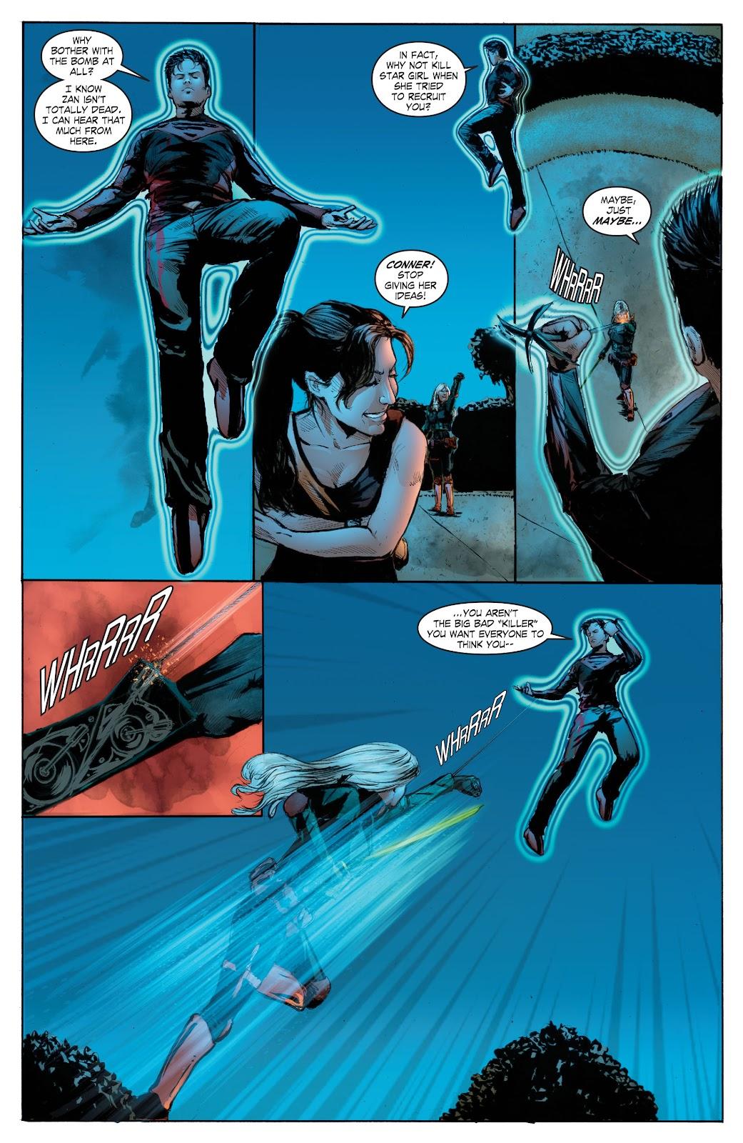 Read online Smallville Season 11 [II] comic -  Issue # TPB 7 - 166