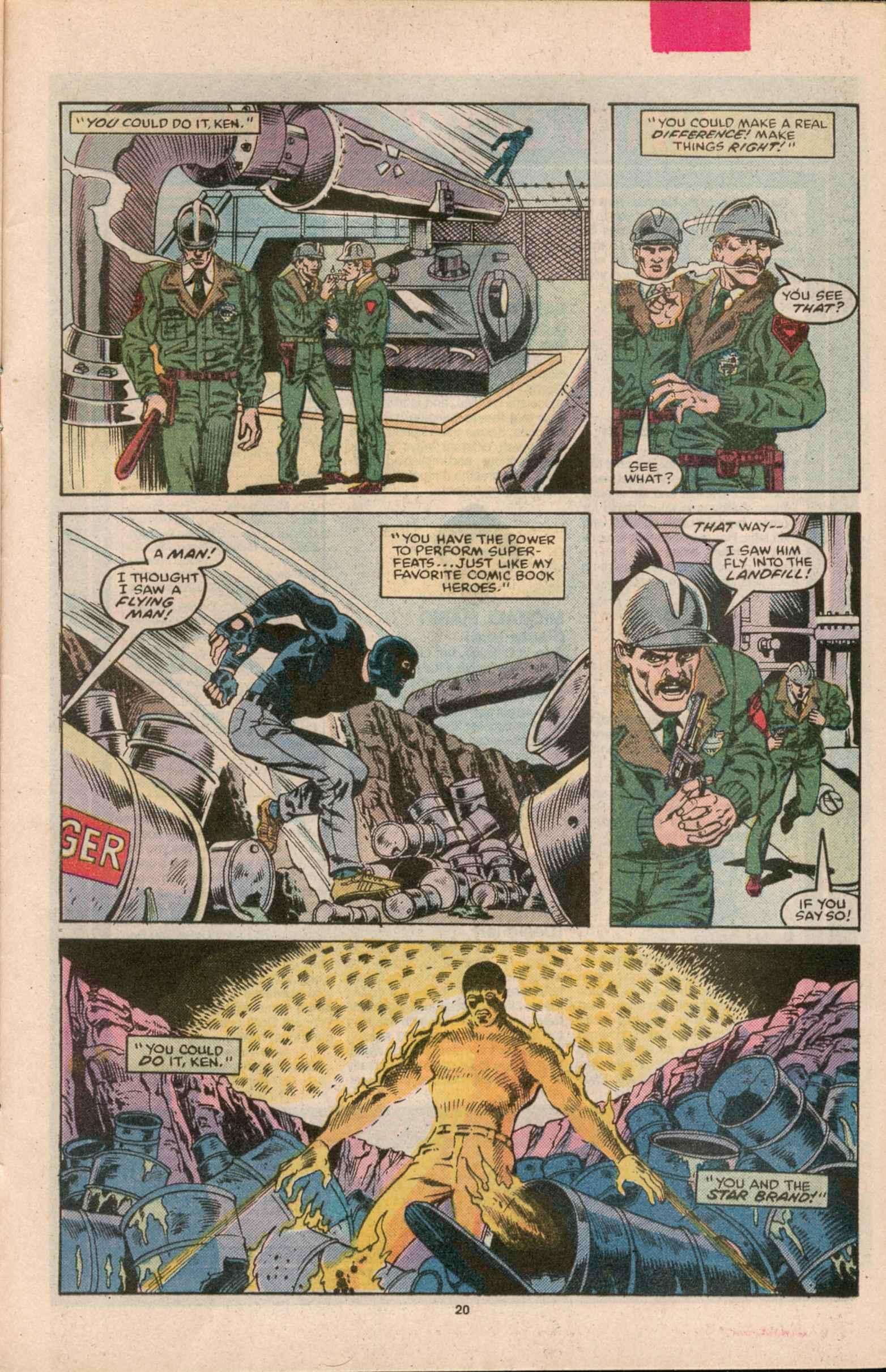 Read online Star Brand comic -  Issue #8 - 21