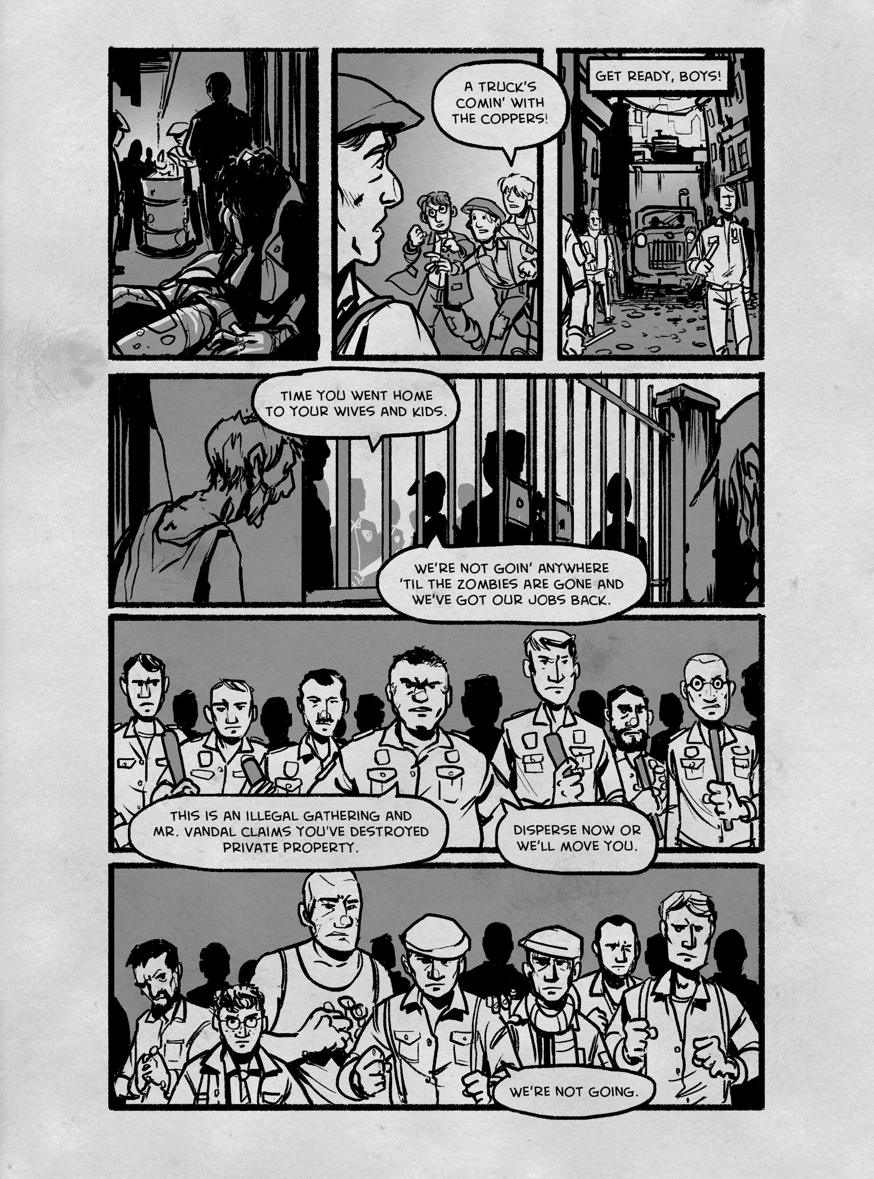 Read online FUBAR comic -  Issue #3 - 240