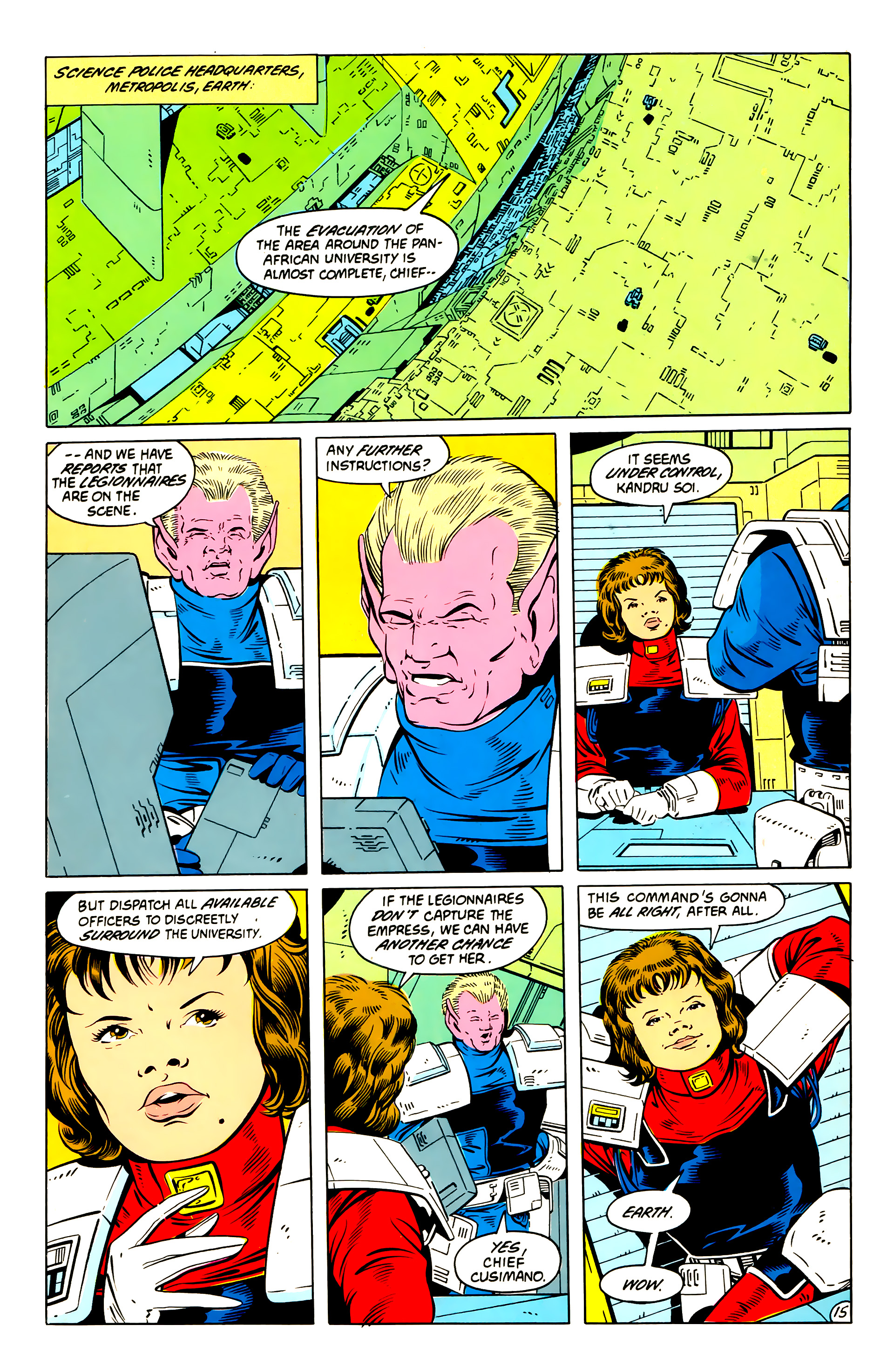 Legion of Super-Heroes (1984) 57 Page 15