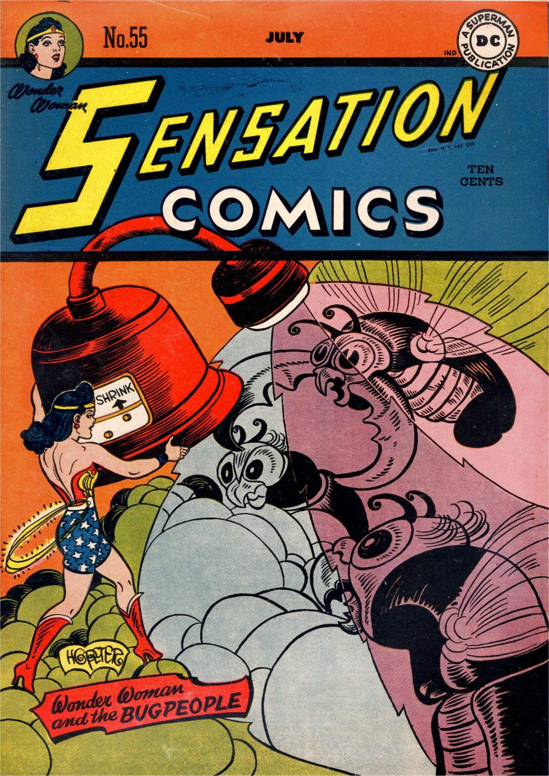 Read online Sensation (Mystery) Comics comic -  Issue #55 - 1