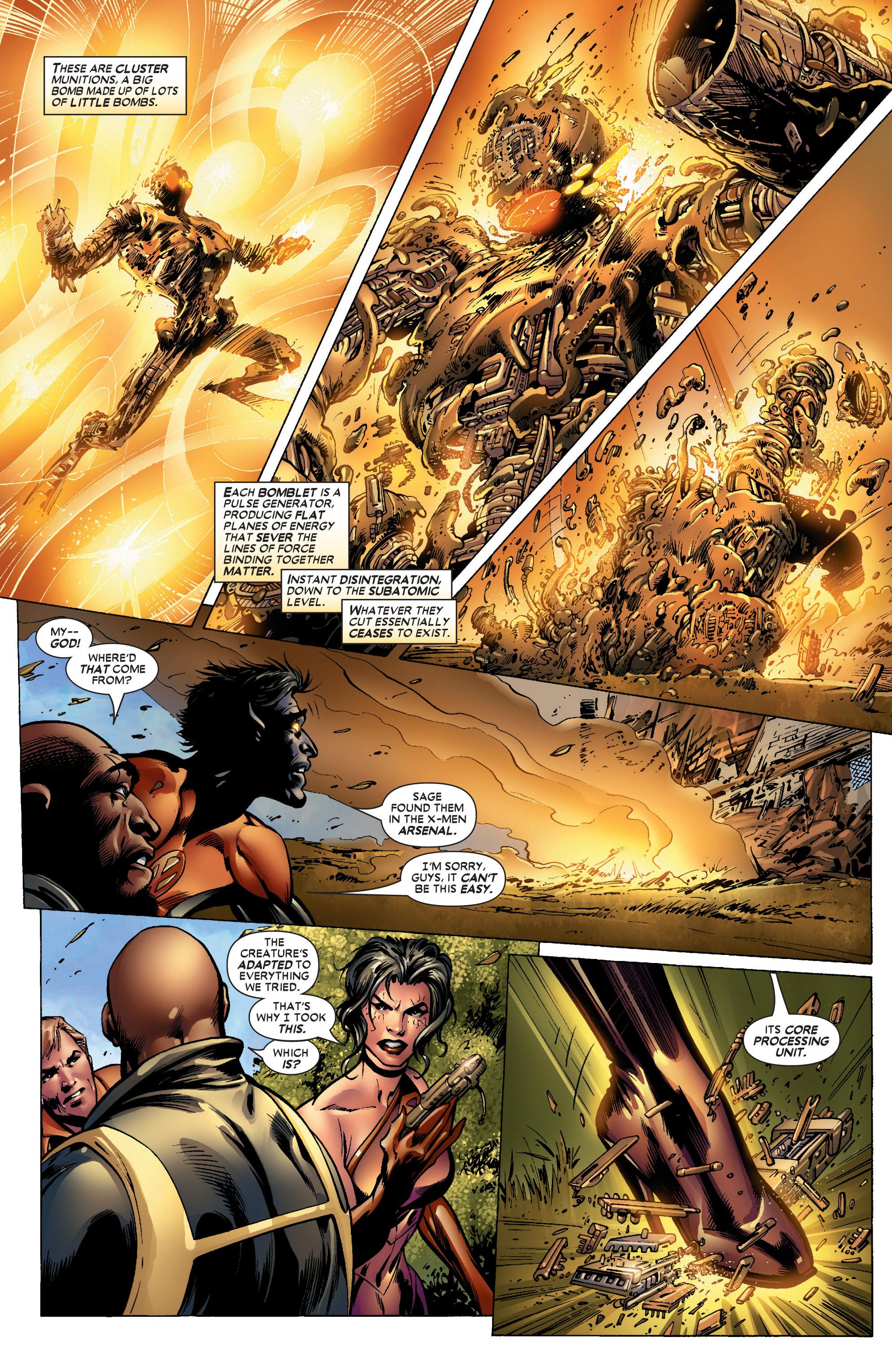 Read online Uncanny X-Men (1963) comic -  Issue #447 - 15