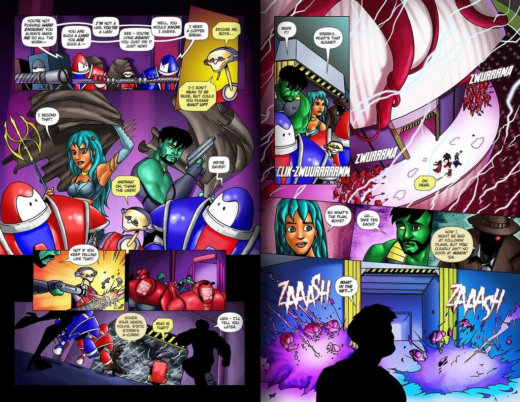 Read online ReBoot: Paradigms Lost comic -  Issue # Full - 29