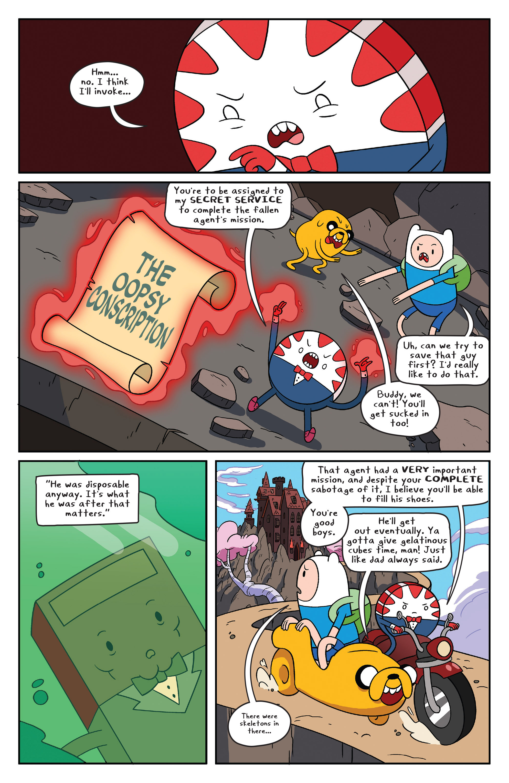 Read online Adventure Time comic -  Issue #41 - 9