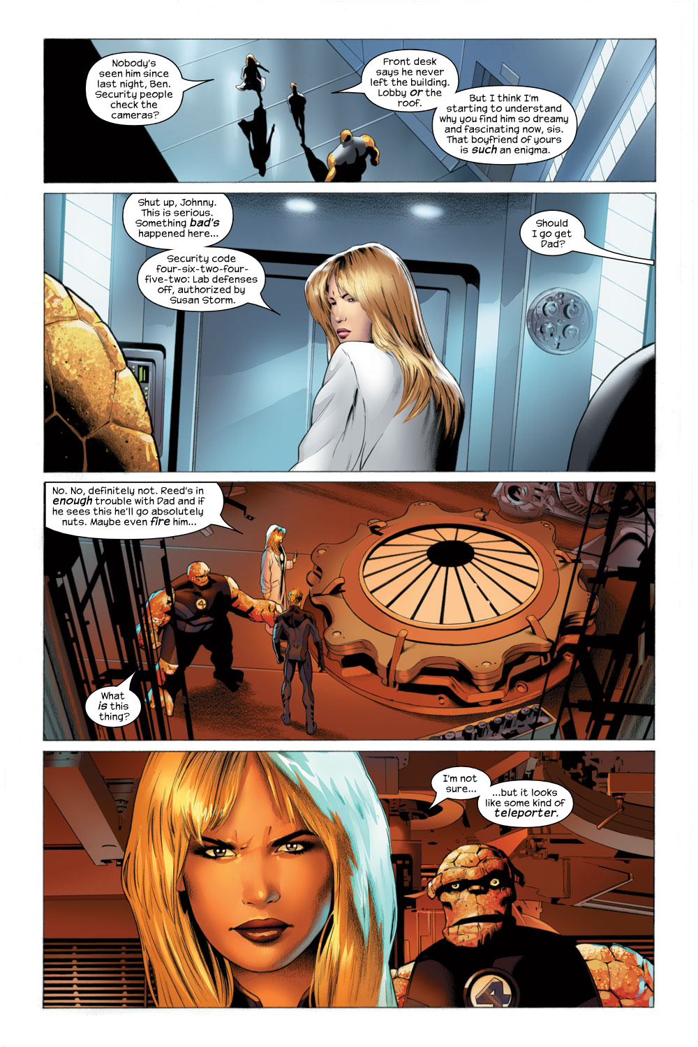 Read online Ultimate Fantastic Four (2004) comic -  Issue #22 - 17